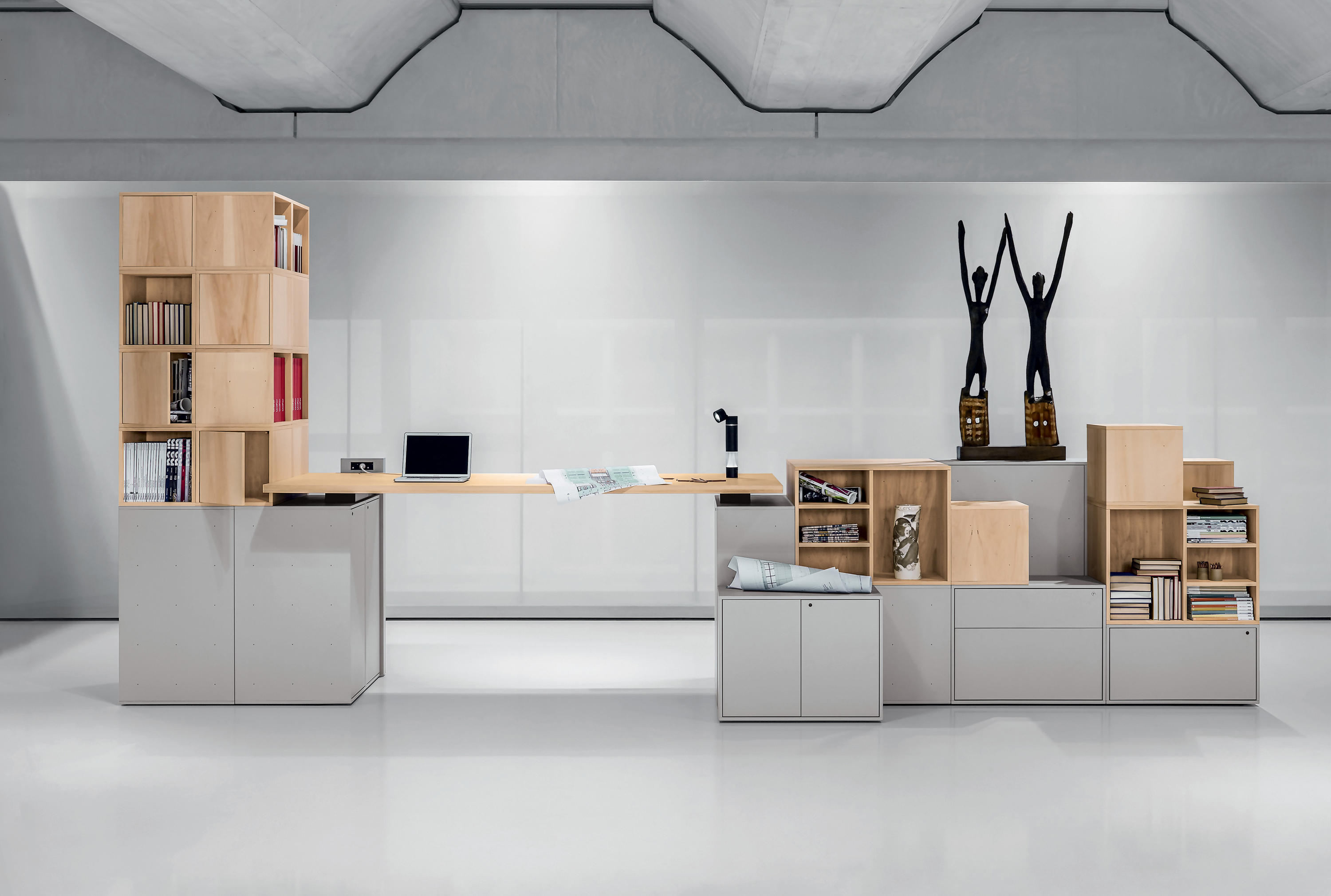 Sistema cases office shelving systems from unifor for Unifor turate