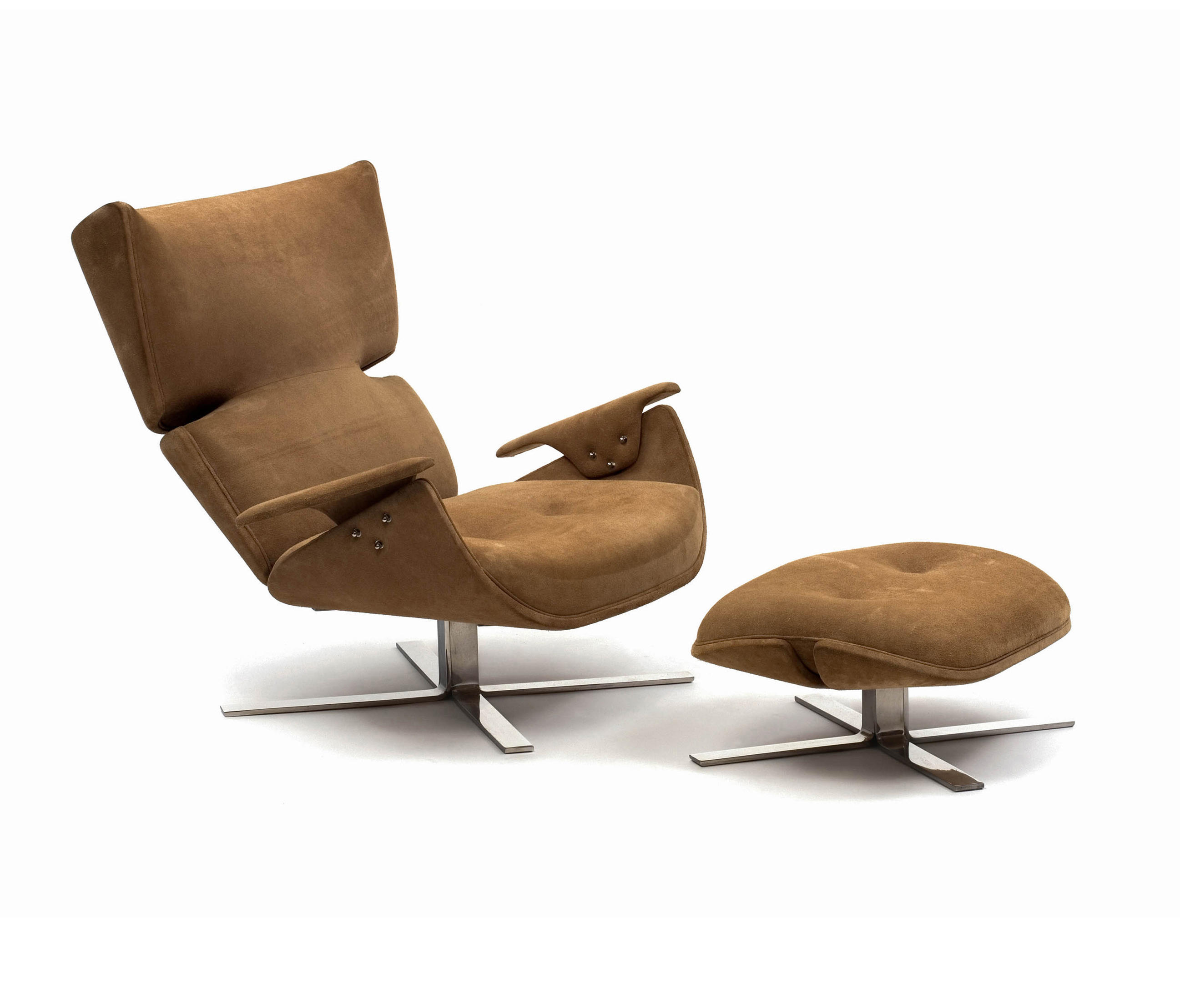 PAULISTANA LOUNGE CHAIR WITH OTTOMAN Lounge chairs from Espasso