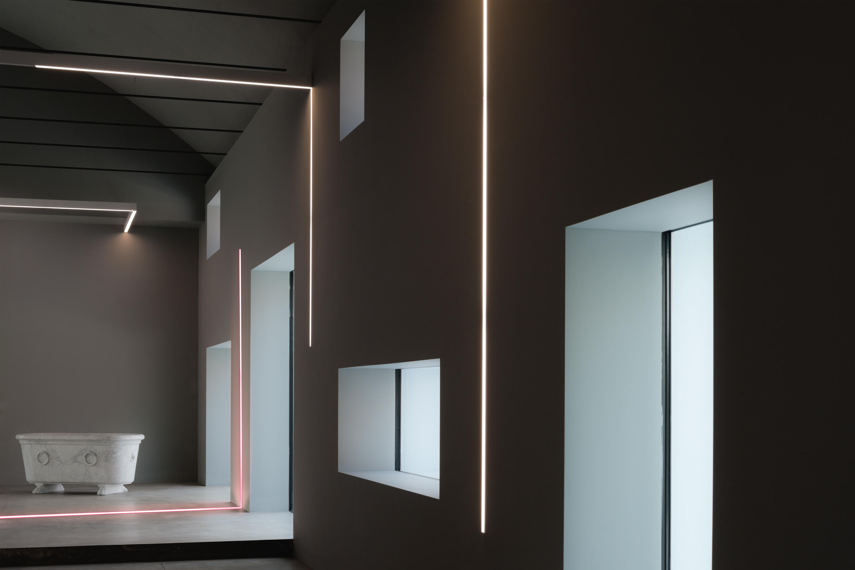 algoritmo general lighting from artemide architectural architonic. Black Bedroom Furniture Sets. Home Design Ideas