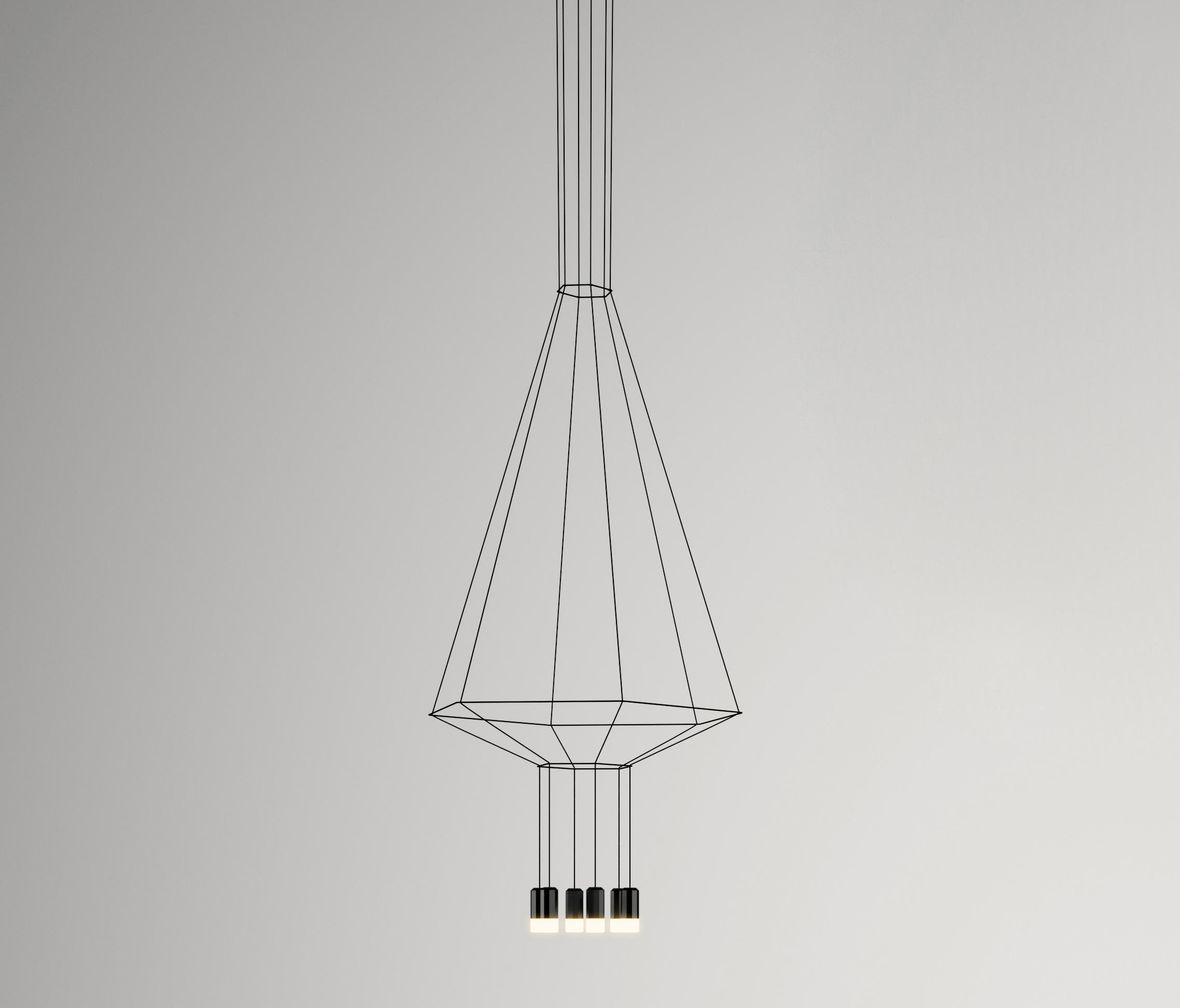 Wireflow 0305 Pendant Lamp Suspended Lights From Vibia