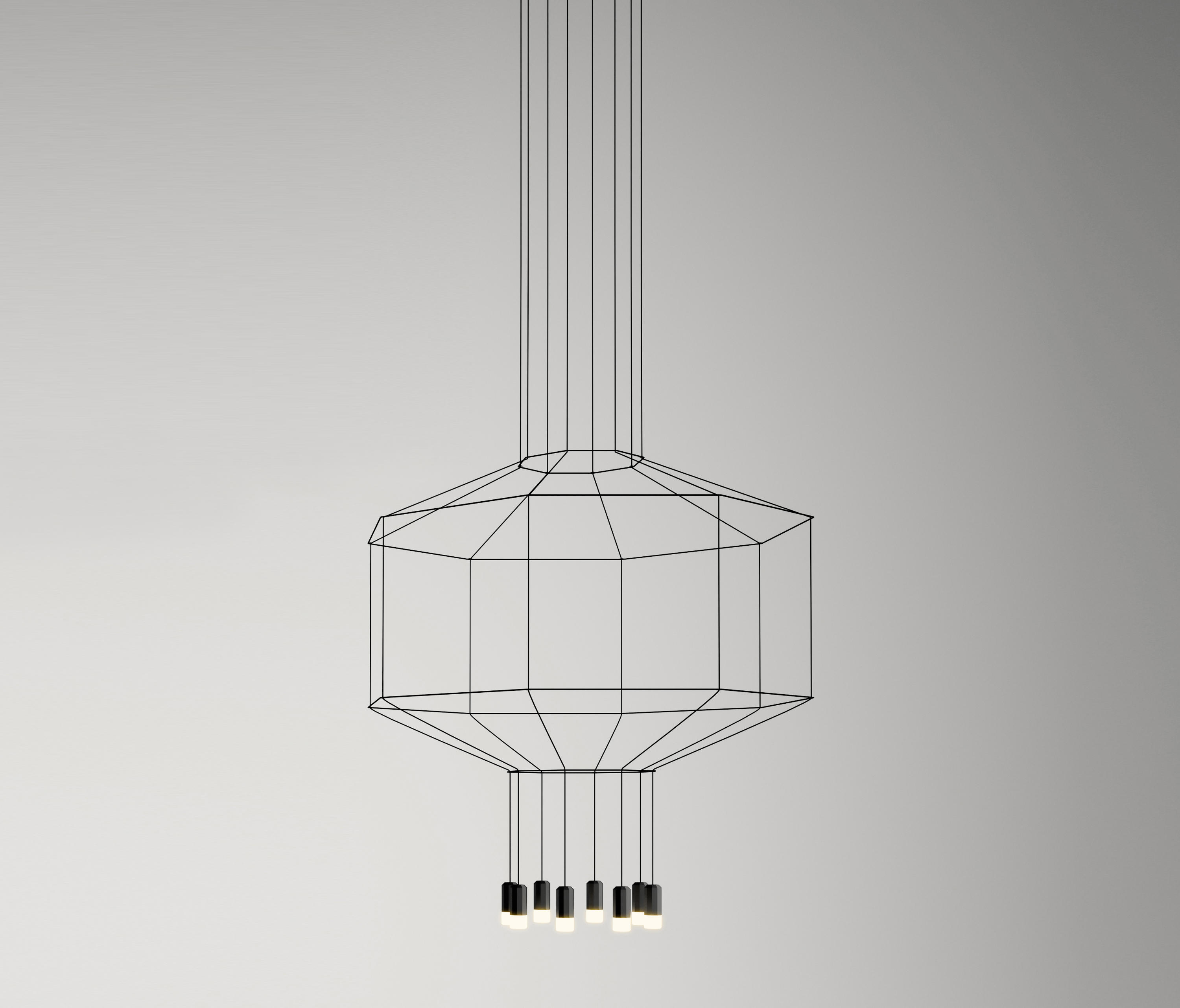 Wireflow 0299 Pendant Lamp By Vibia General Lighting
