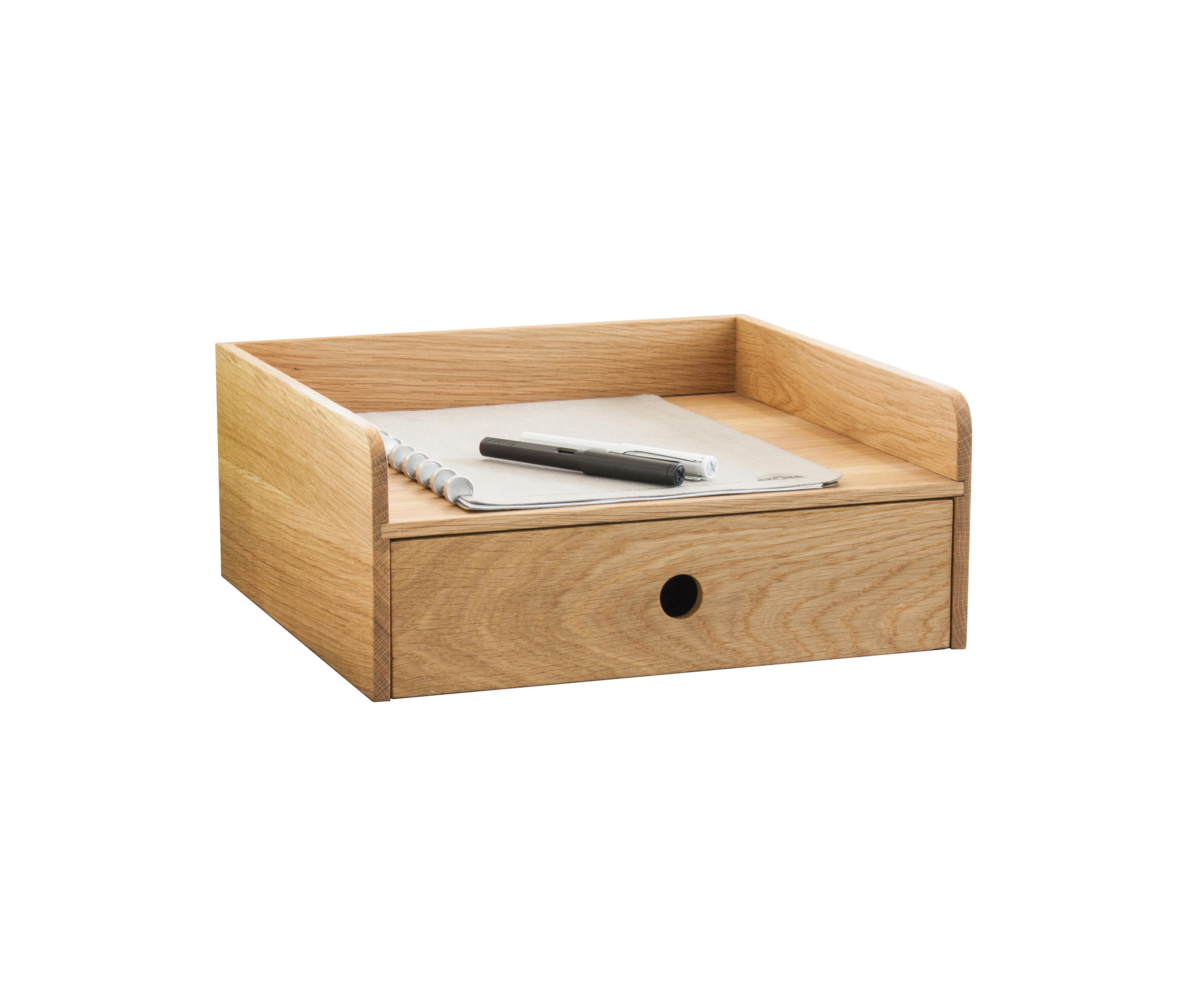 oh schreibtischablage beh lter boxen von oliver conrad. Black Bedroom Furniture Sets. Home Design Ideas