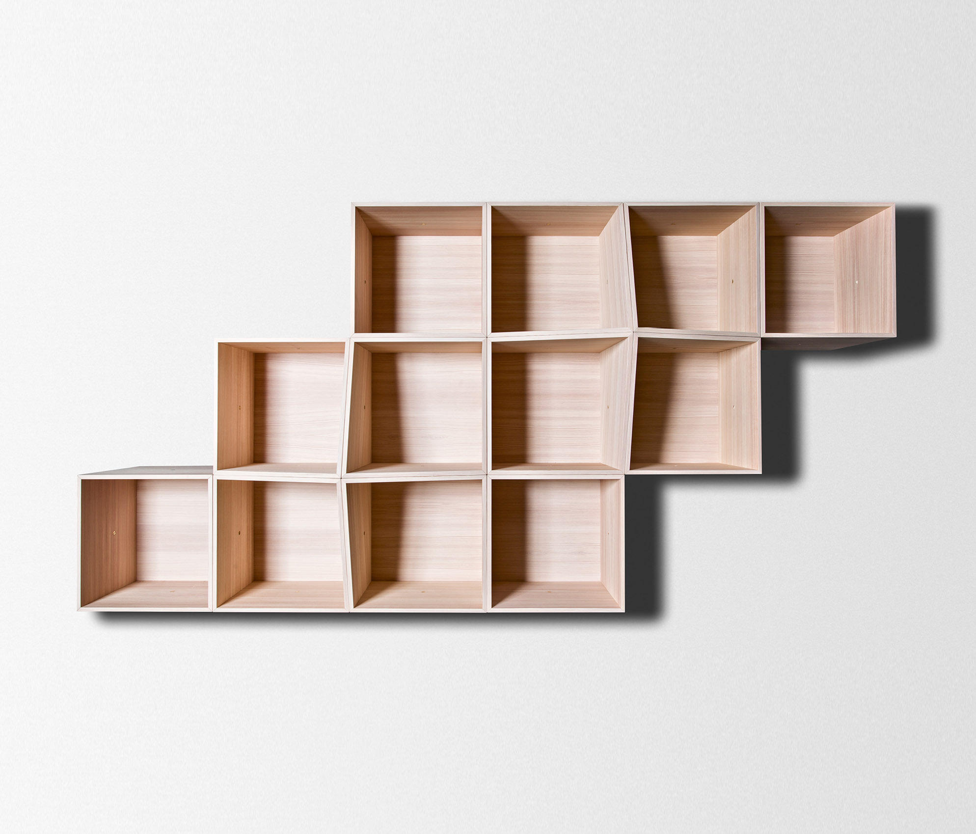 edge wall shelving modular system wall shelves from trentino