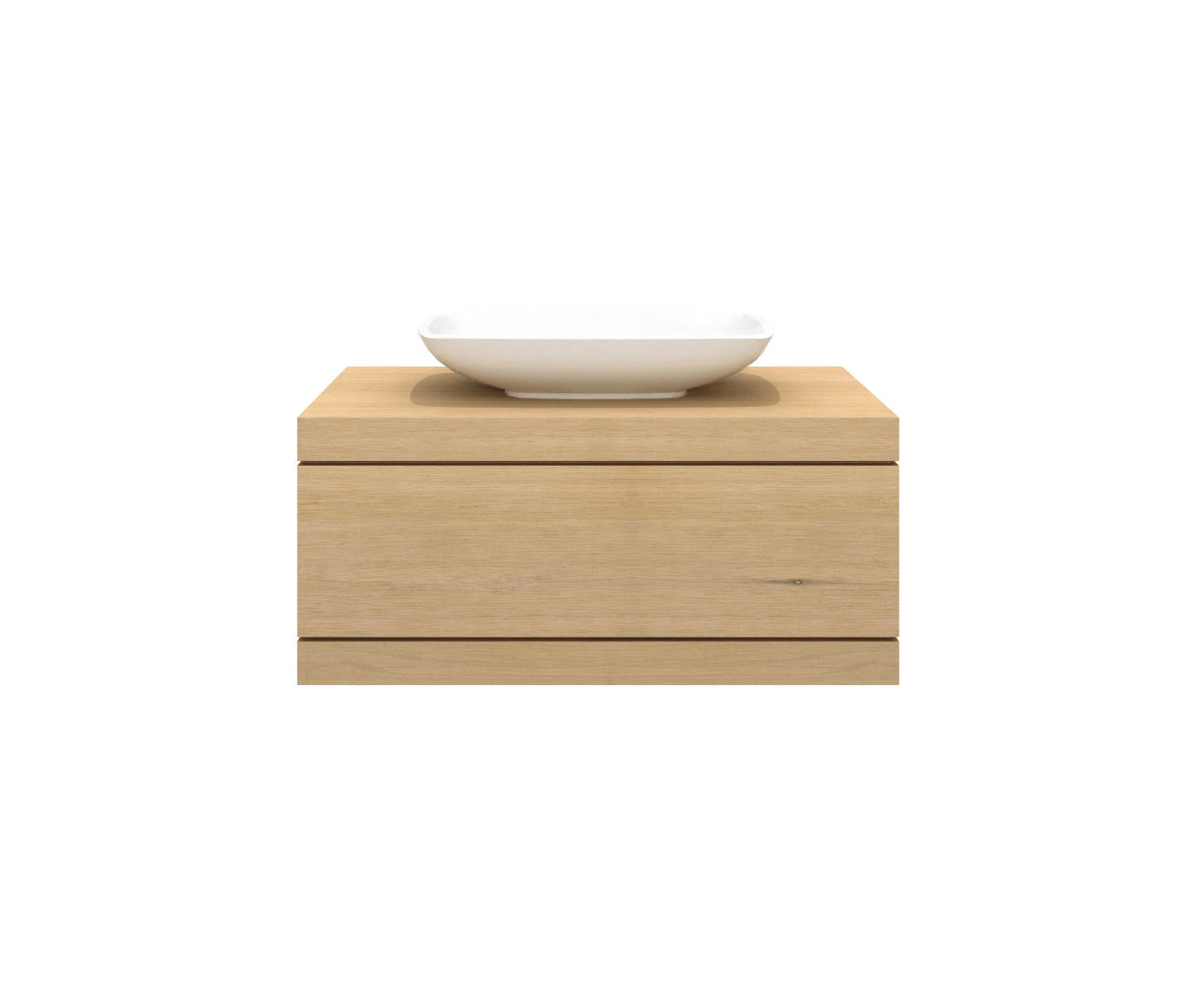 Cadence Wall Mounted Base Unit Vanity Units From Ethnicraft  # Meuble Tv Mobile