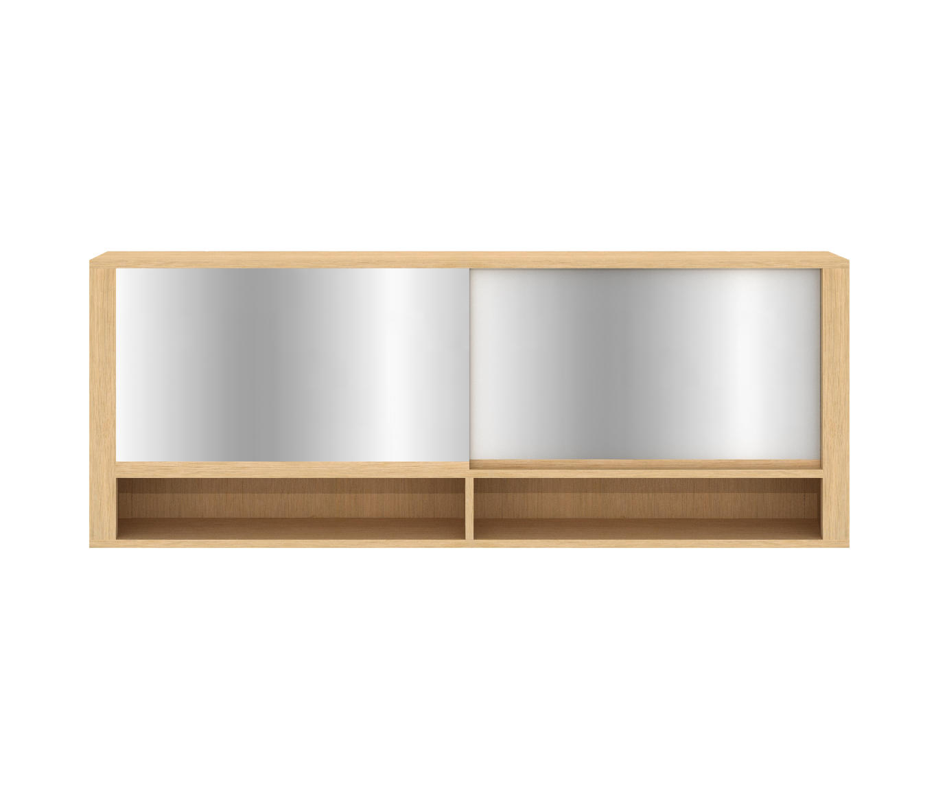 Shadow mirror cabinet mirror cabinets from ethnicraft for Armoire toilette