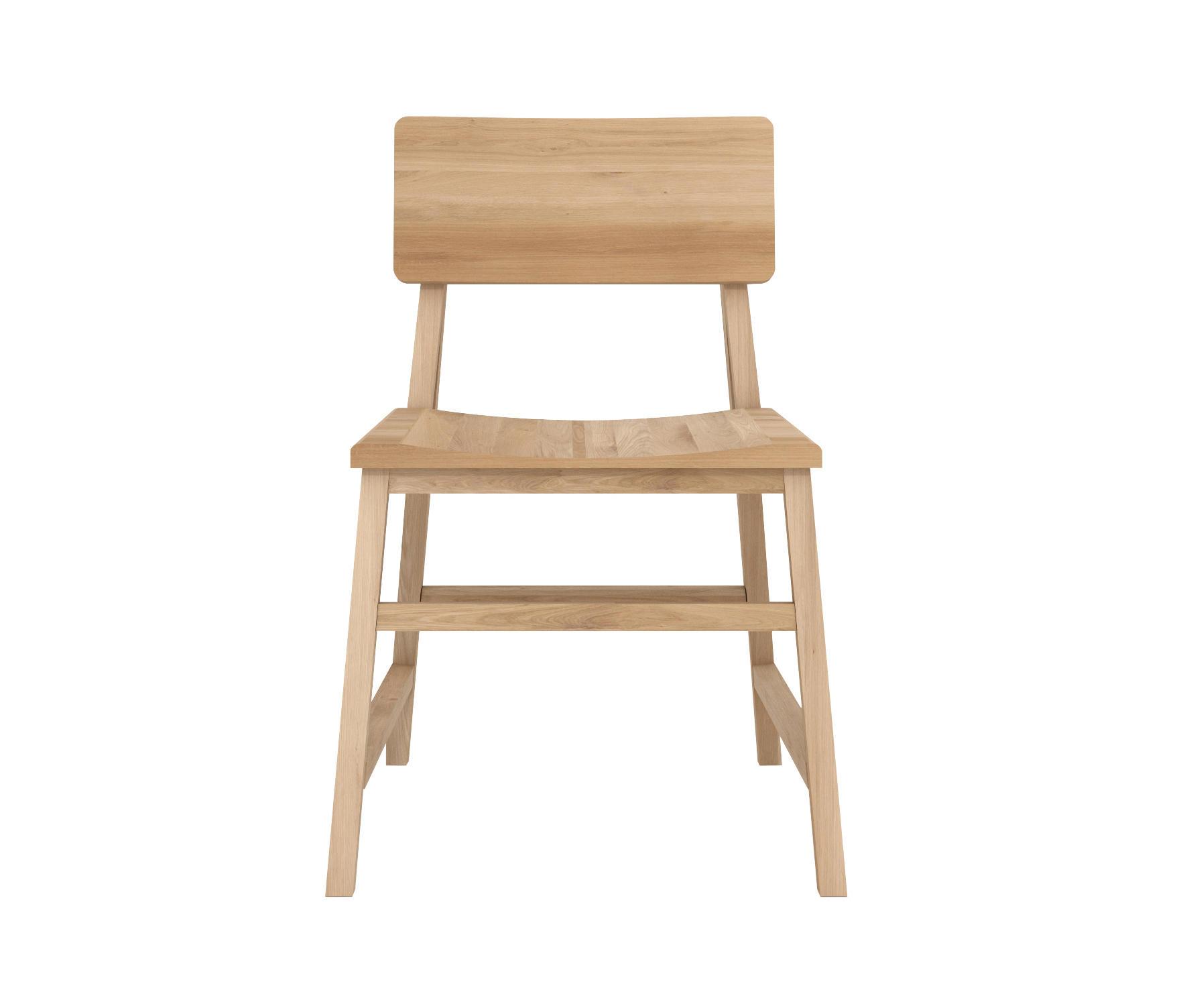 oak n1 chair chaises de restaurant de ethnicraft architonic. Black Bedroom Furniture Sets. Home Design Ideas