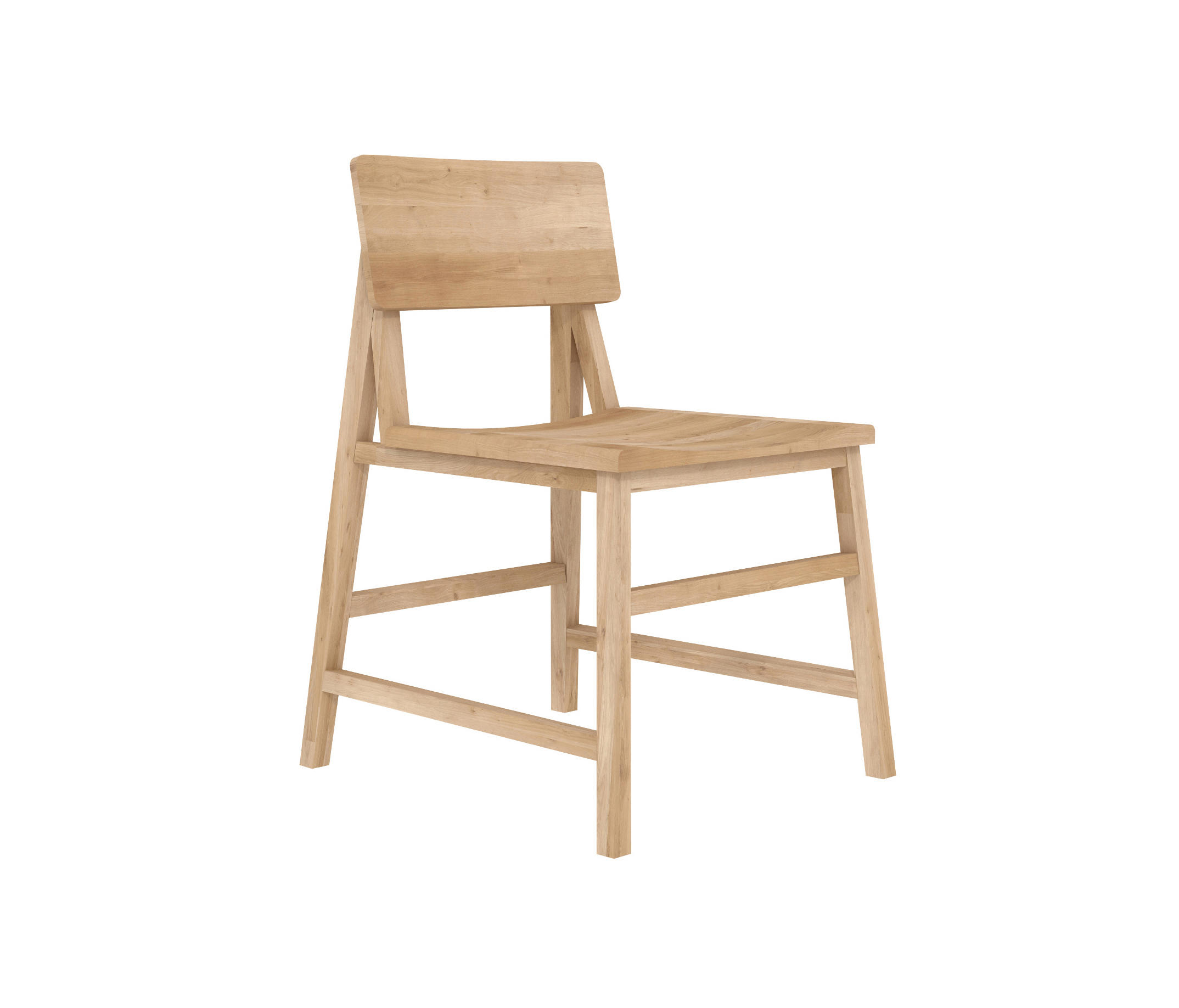 Oak n1 chair chaises de restaurant de ethnicraft architonic - Fabricant chaises belgique ...