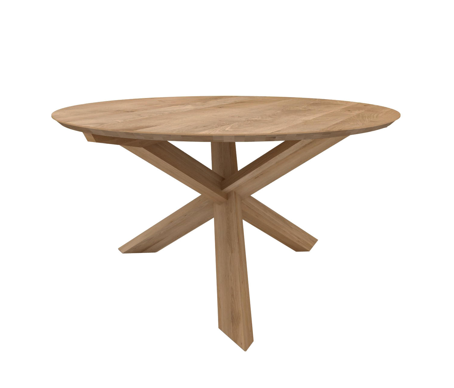 ... Oak Circle Dining Table By Ethnicraft | Dining Tables ...