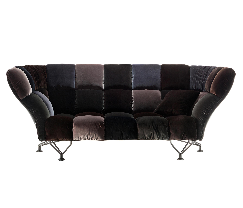 33 cuscini divano divani lounge driade architonic for Divano cuscini