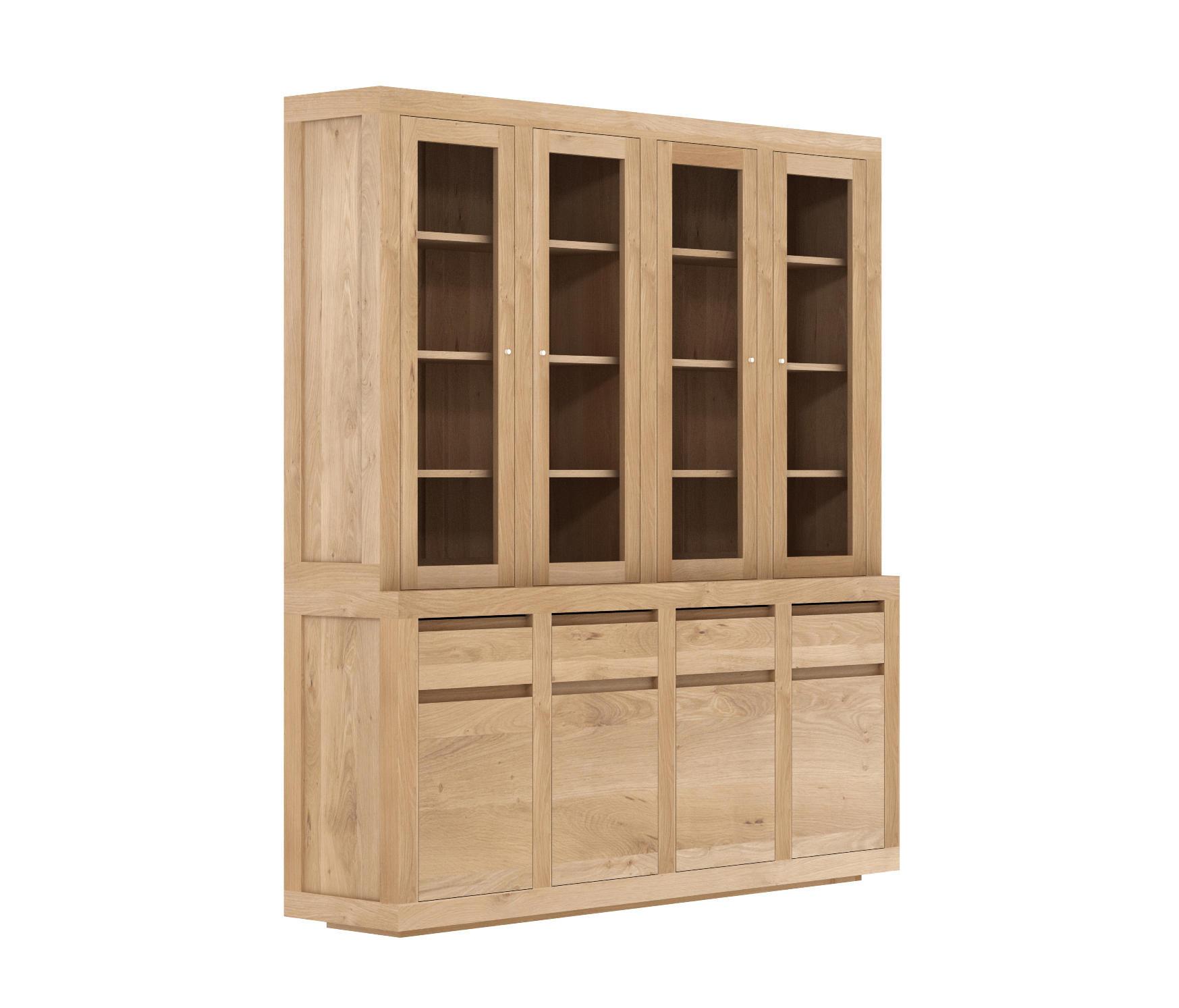 antique sold hutch doors china sideboard door cabinet stained glass oak with scandinavian shop