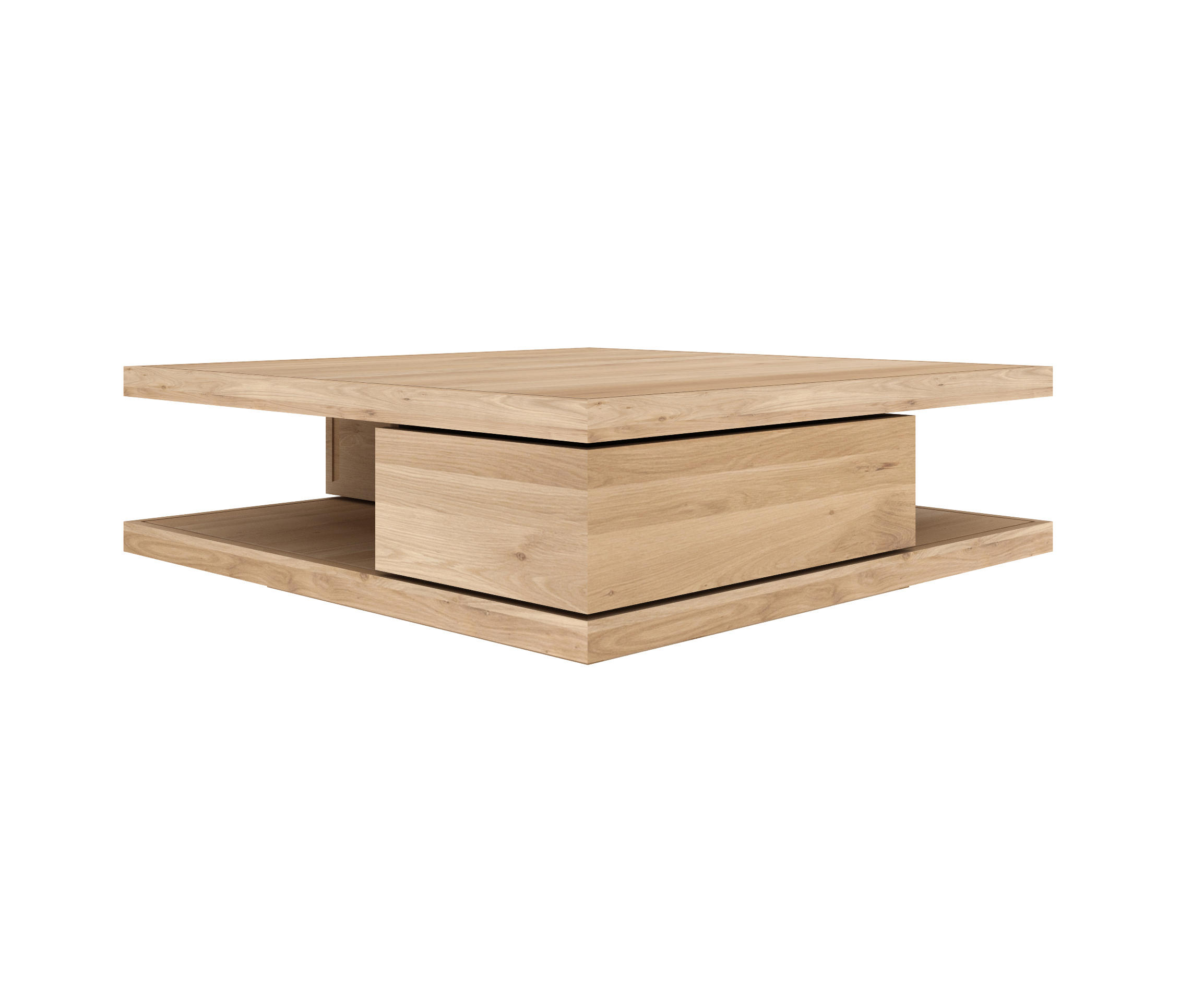 ... Oak Flat Coffee Table By Ethnicraft   Coffee Tables