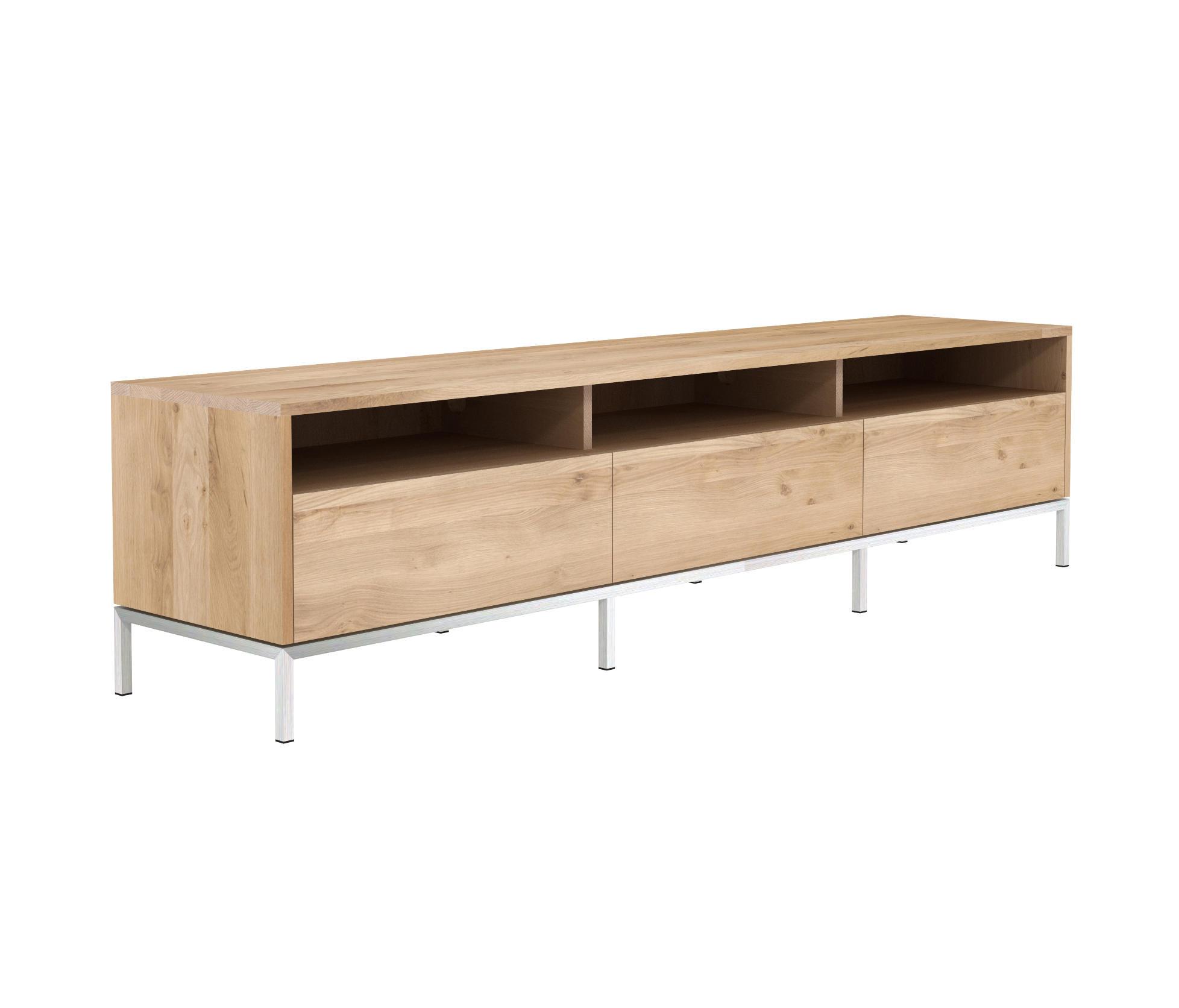 oak ligna tv cupboard multimedia sideboards von. Black Bedroom Furniture Sets. Home Design Ideas