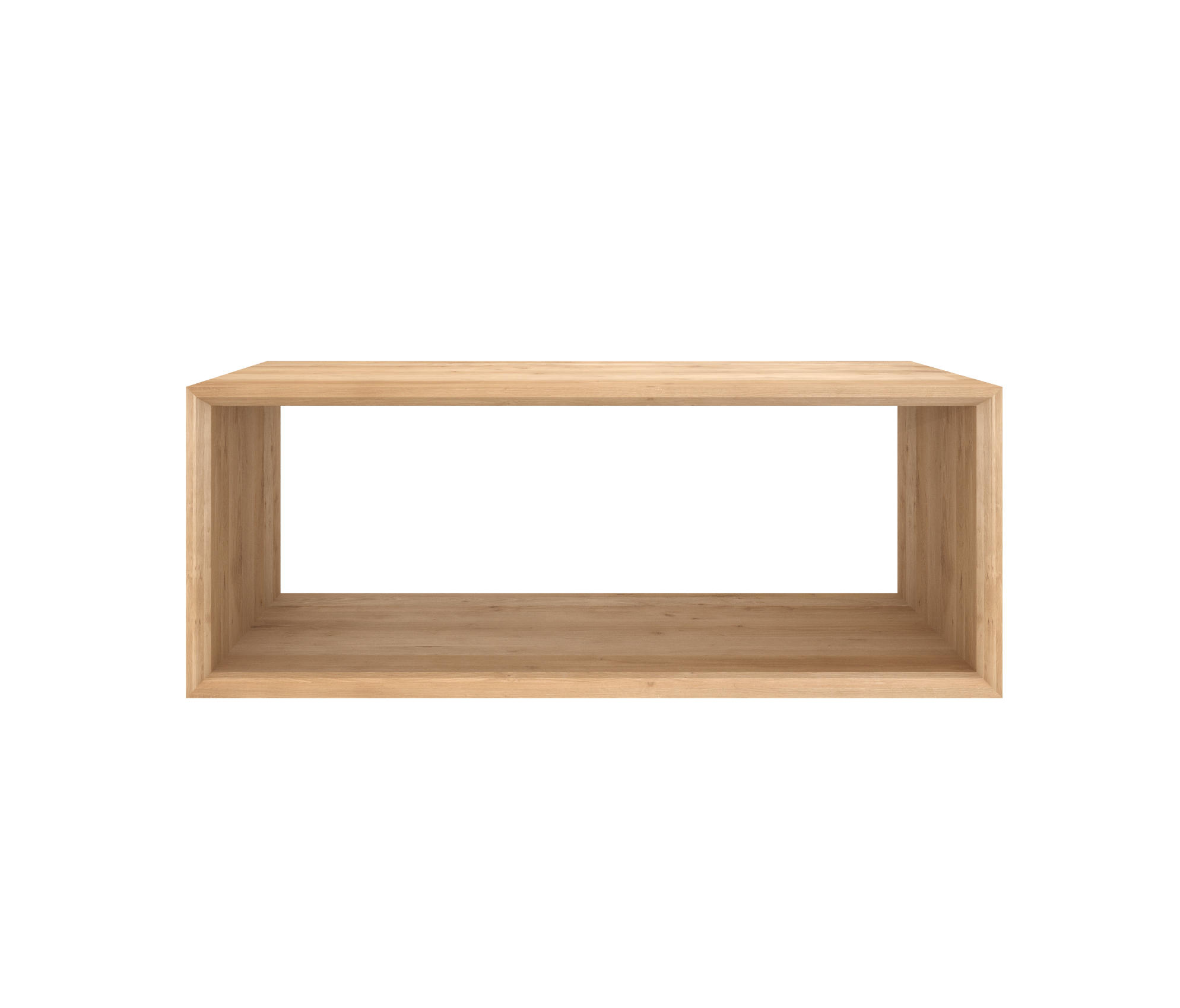Oak Cube Close Coffee Tables From