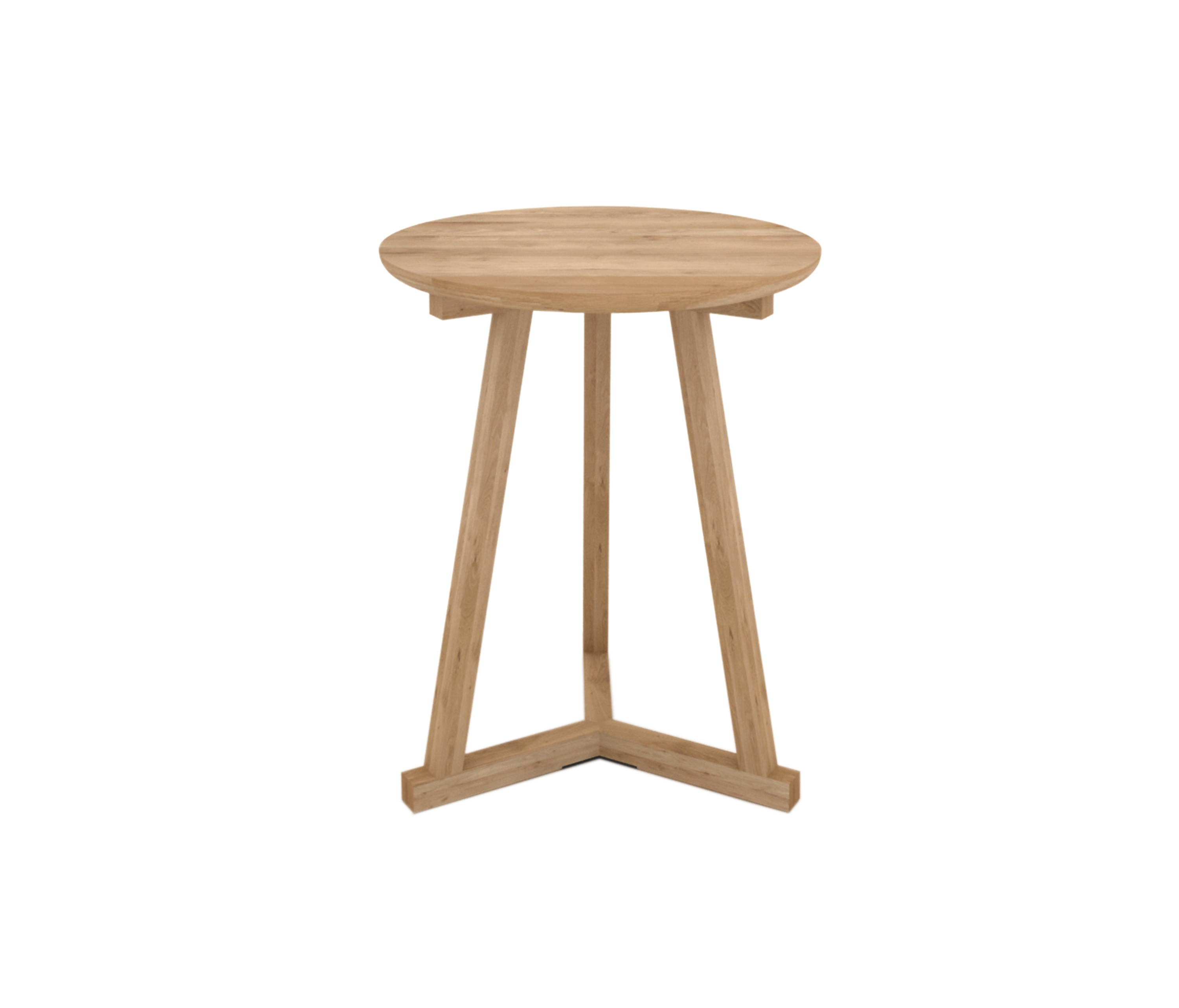OAK TRIPOD SIDE TABLE - Side tables from Ethnicraft | Architonic