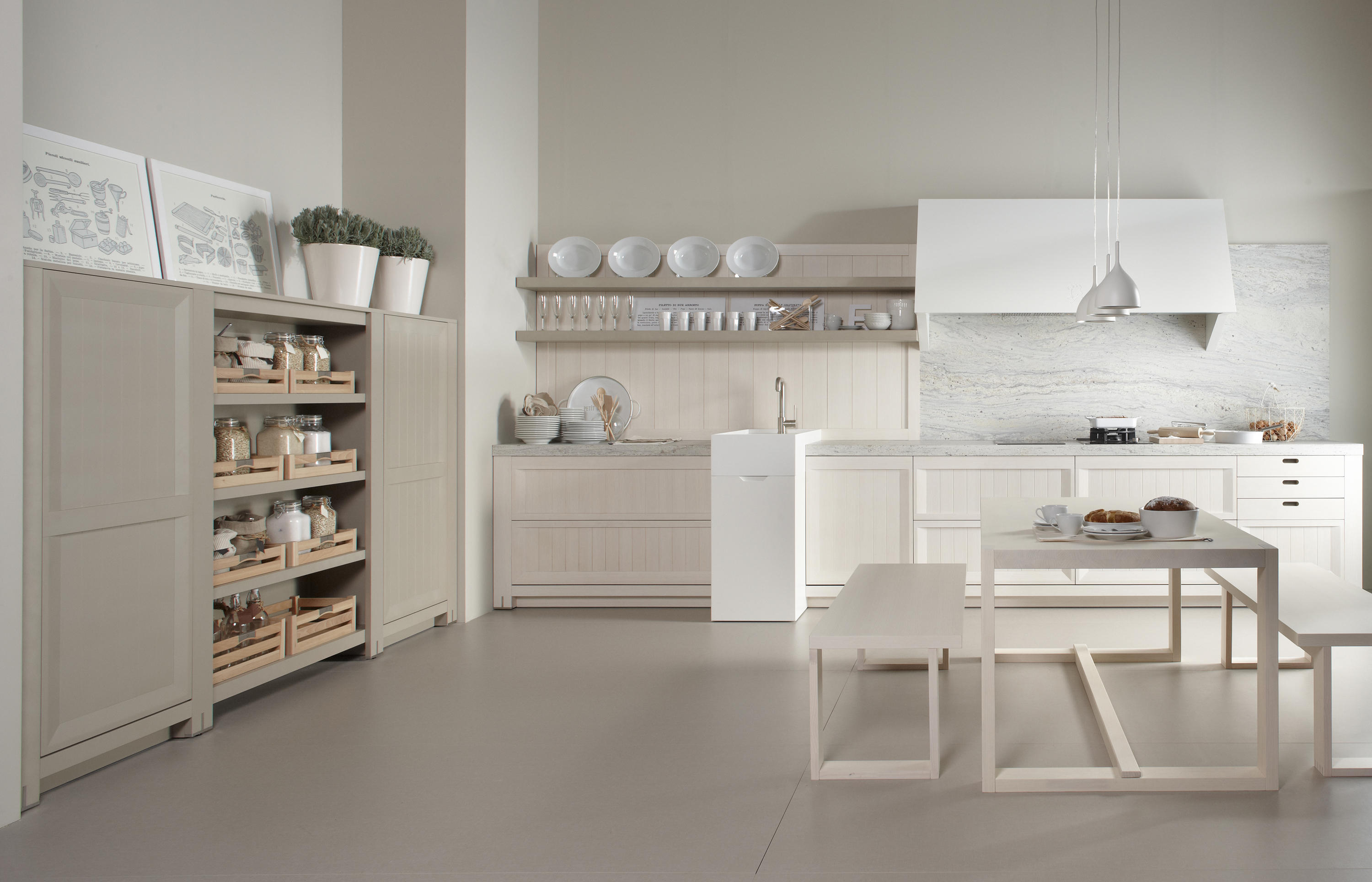 Arkadia Blanco Nata Cocinas Integrales De Dica Architonic # Muebles Momento Actual