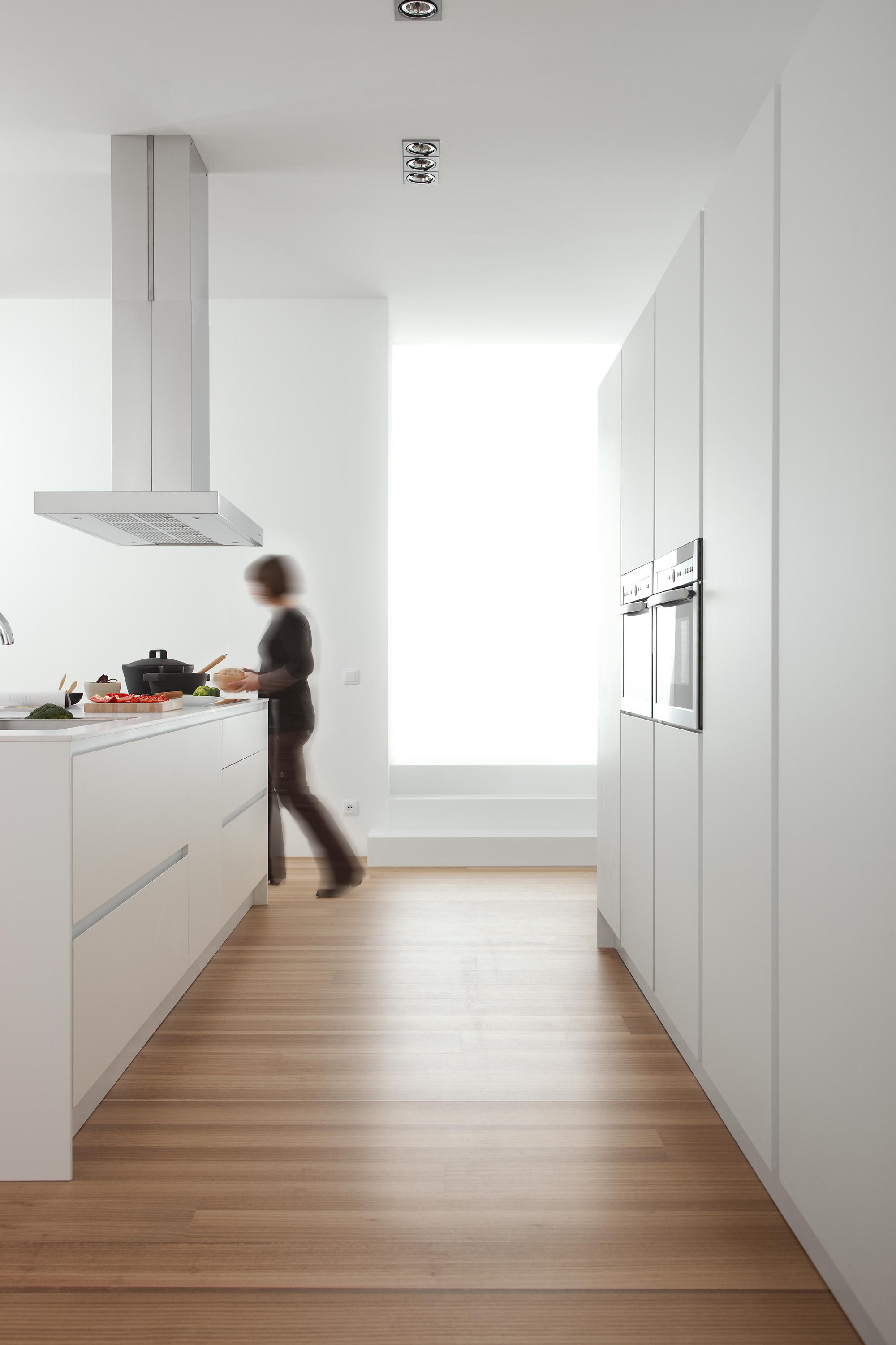 Serie 45 Polar White Island Kitchens From Dica