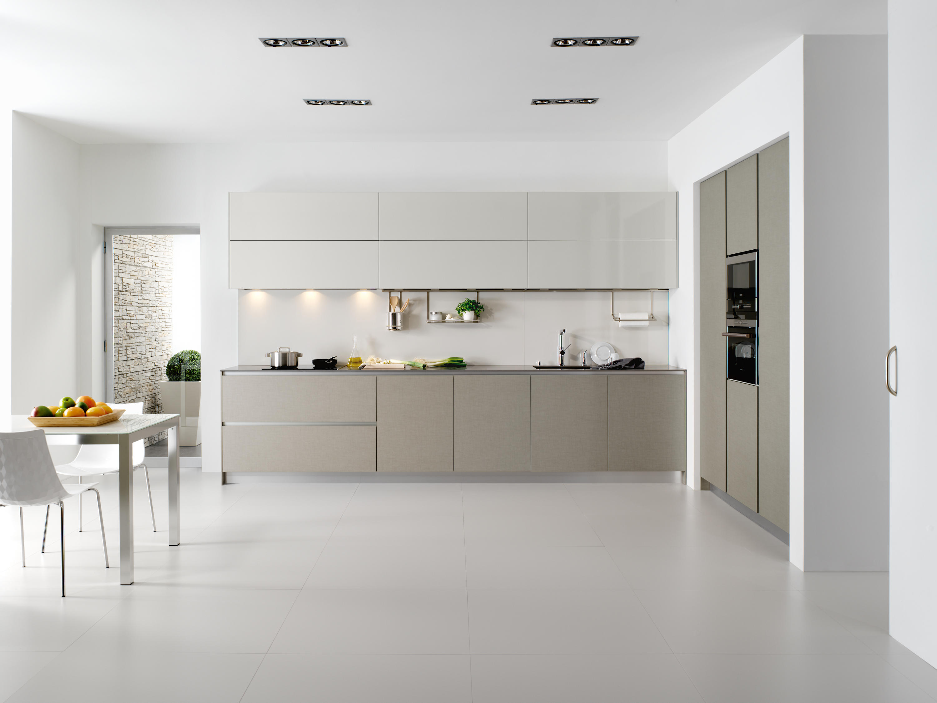 Serie 45 | Natural Linen By Dica | Fitted Kitchens ...