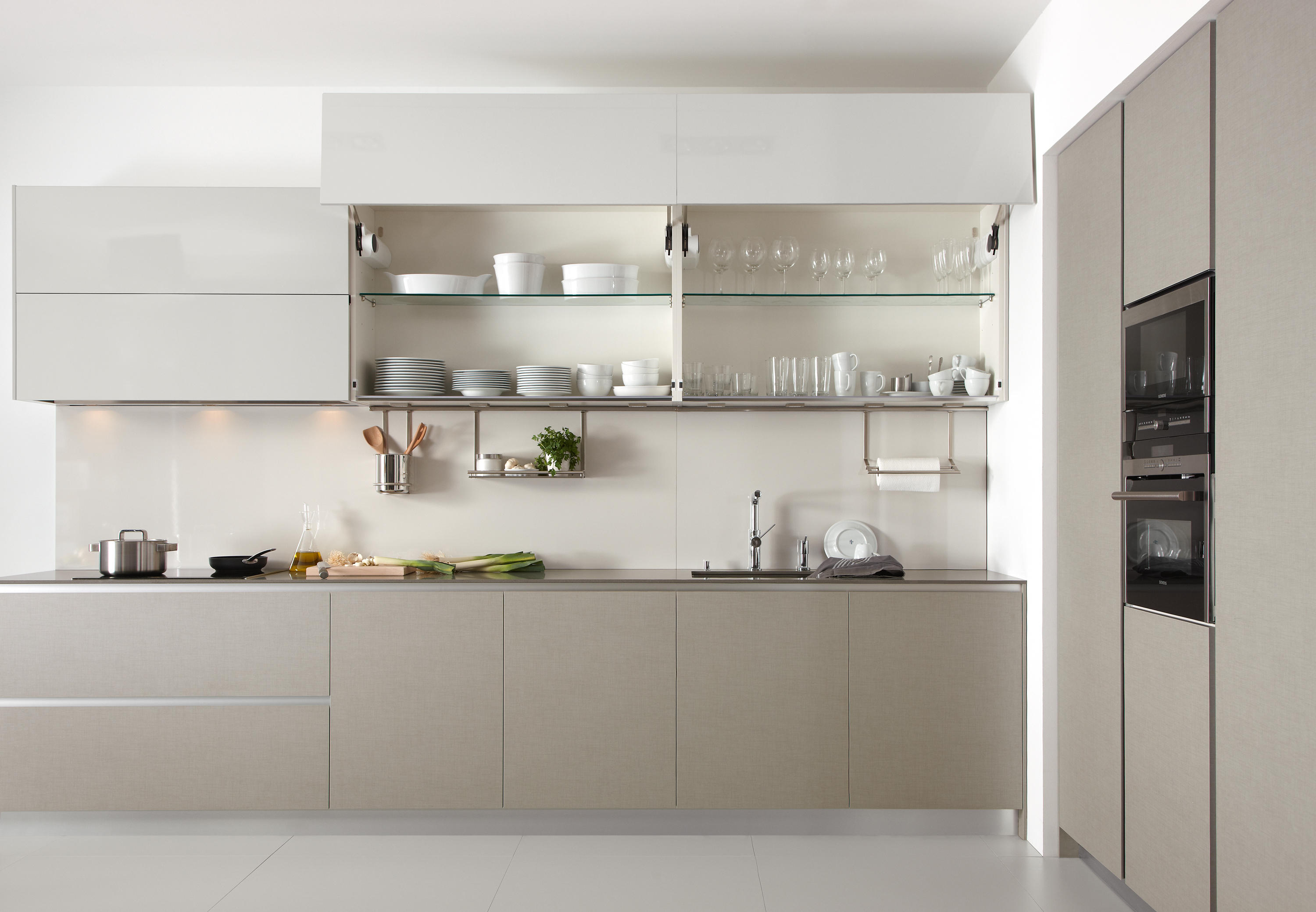 Perfekt ... Serie 45 | Natural Linen By Dica | Fitted Kitchens ...