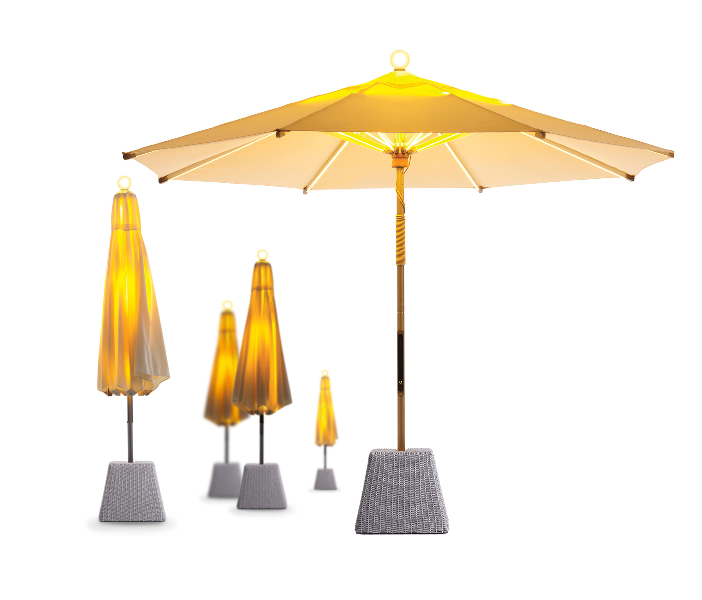 ni parasol 350 sunbrella parasols from foxcat design. Black Bedroom Furniture Sets. Home Design Ideas