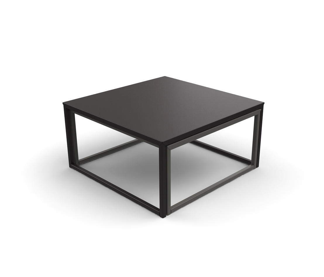 Tiptop low table coffee tables from mati re grise architonic - Table grise conforama ...