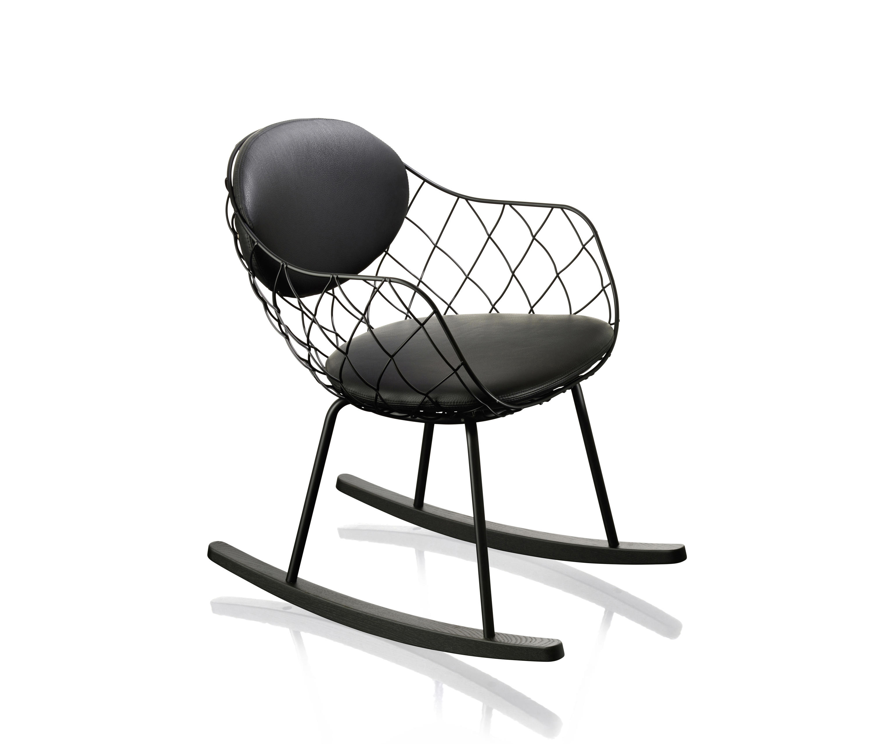 Pi a rocking chair armchairs from magis architonic for Magis chair