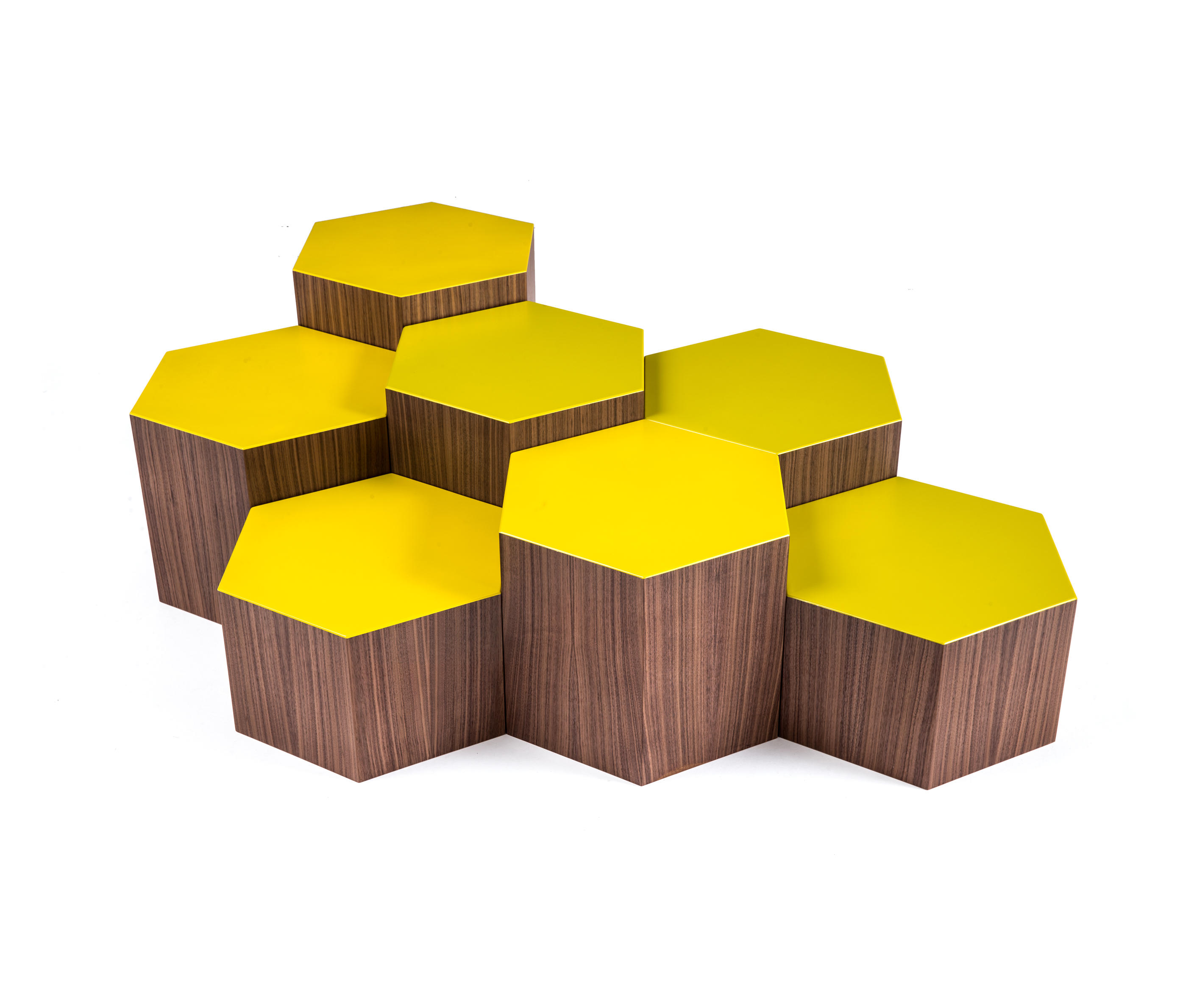 SIX COFFEE TABLE Lounge tables from Bross
