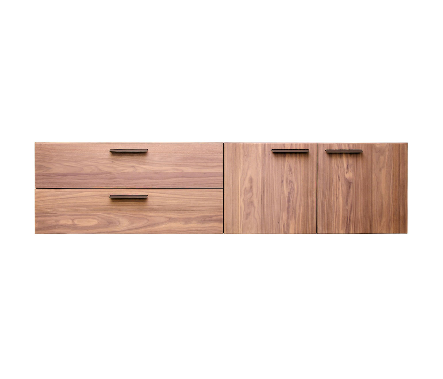Shale 2 Door 2 Drawer Wall Mounted Cabinet Sideboards