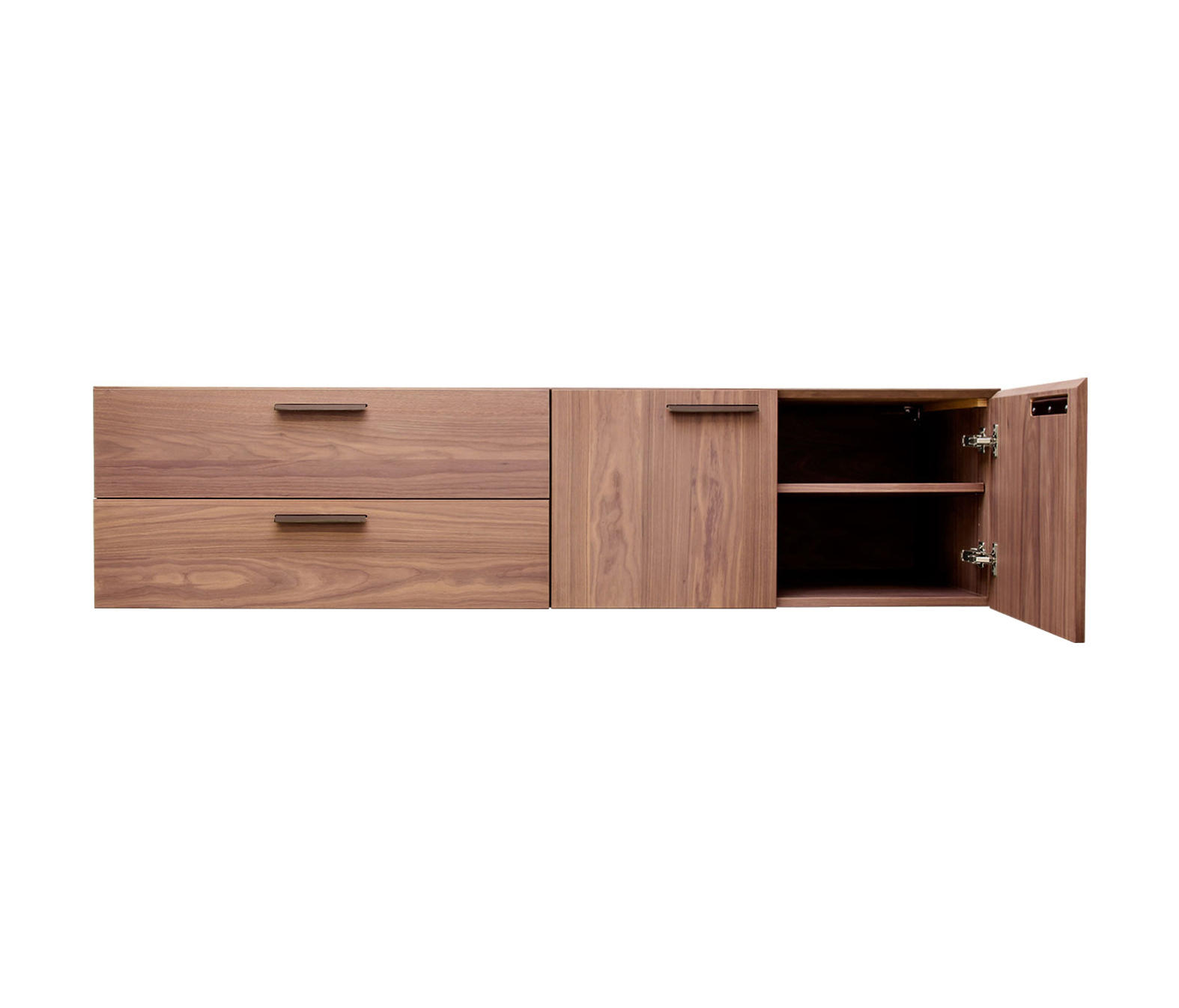 SHALE 2 DOOR - 2 DRAWER WALL-MOUNTED CABINET - Sideboards from Blu ...