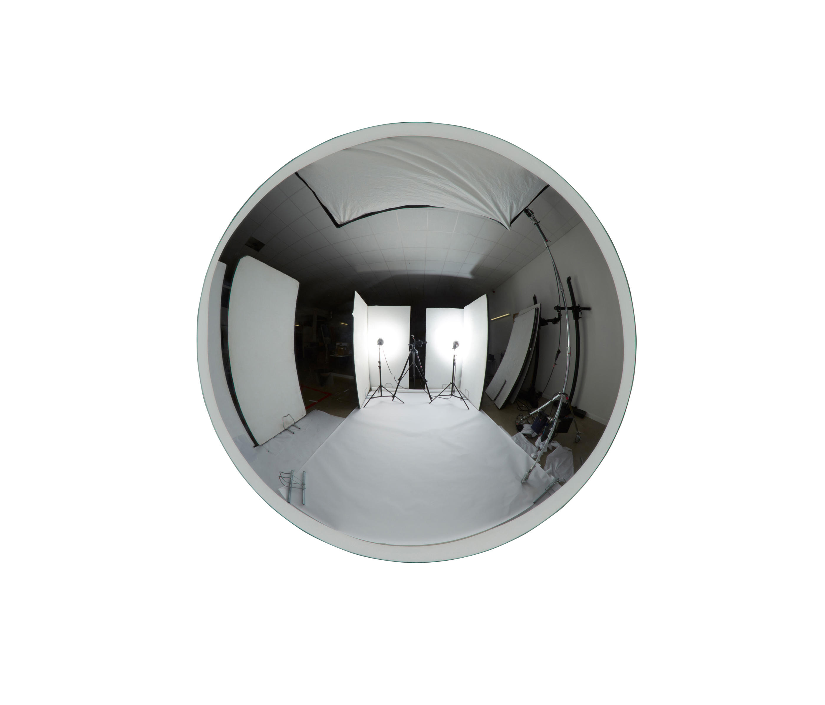 dome mirror mirrors from tom dixon architonic. Black Bedroom Furniture Sets. Home Design Ideas