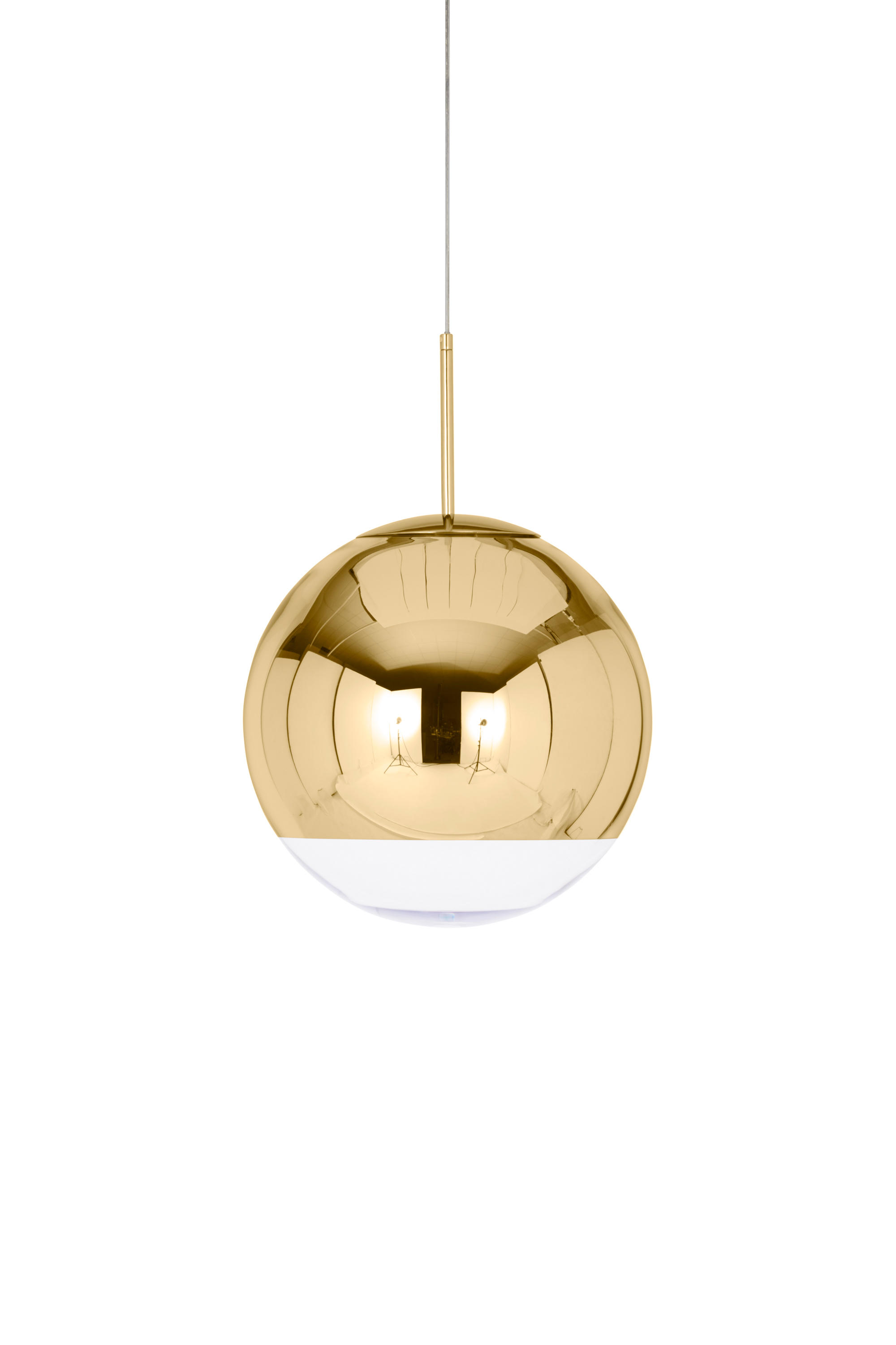 Mirror Ball Pendant Gold 40cm Suspended Lights From Tom