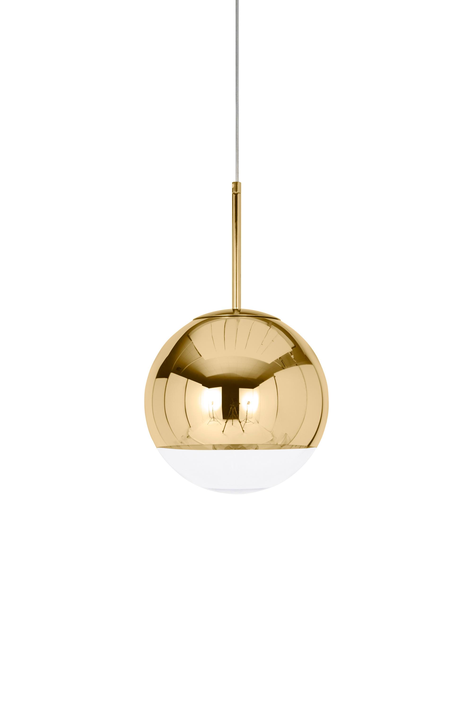 Mirror ball pendant gold 25cm general lighting from tom dixon mirror ball pendant gold 25cm by tom dixon general lighting arubaitofo Gallery