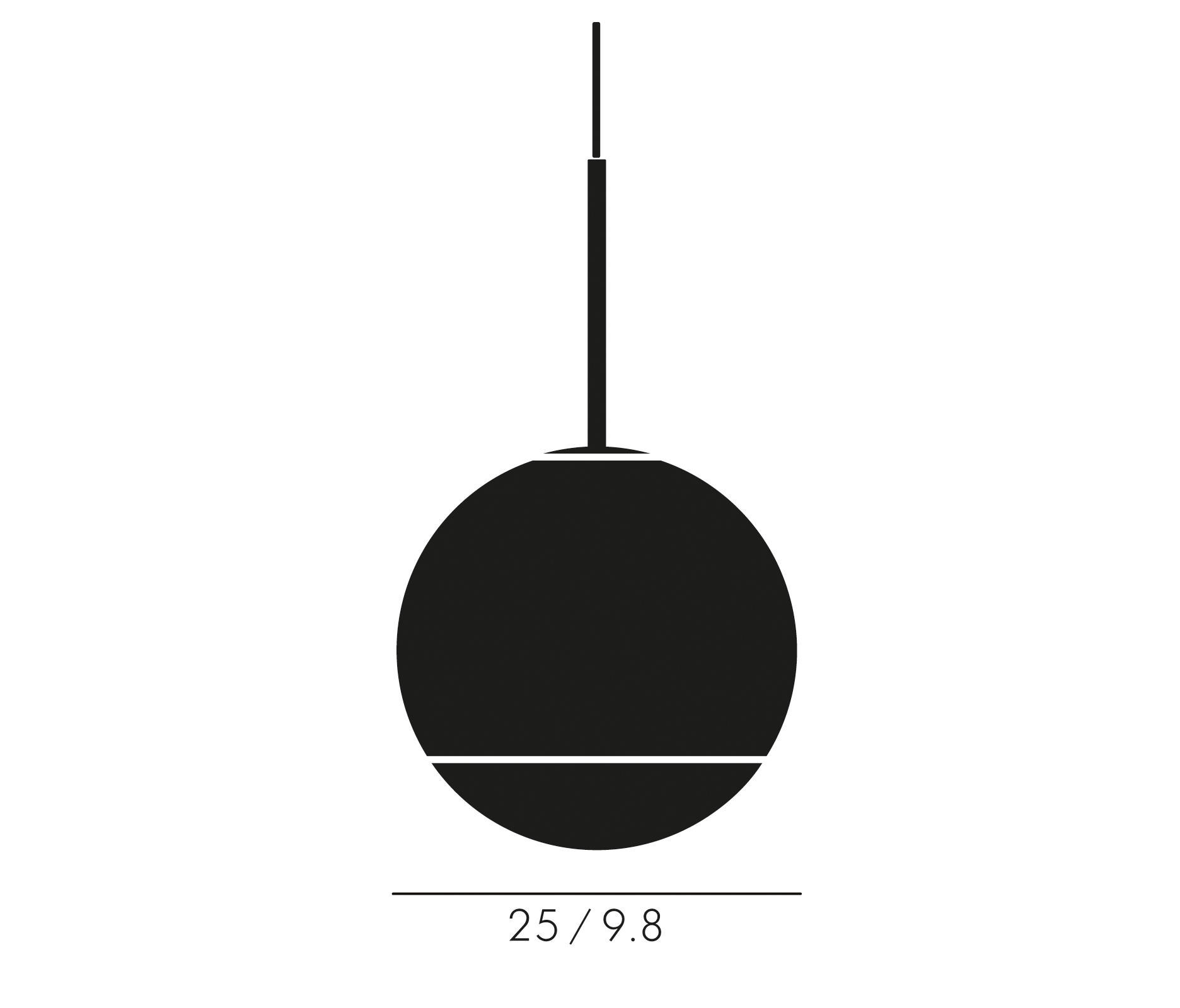Mirror ball pendant gold 25cm general lighting from tom dixon mirror ball pendant gold 25cm by tom dixon general lighting mozeypictures Choice Image