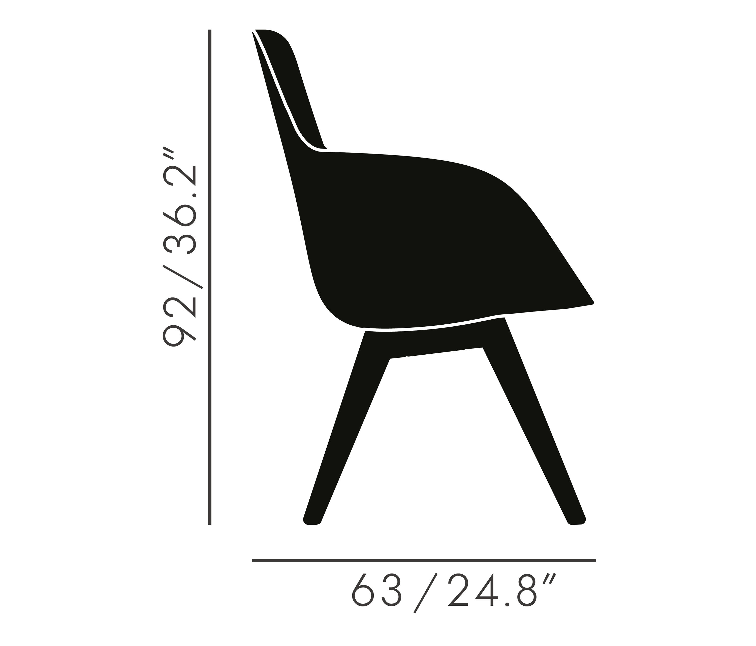 ... Scoop Chair High Back Black Leg Tonus 4 By Tom Dixon | Visitors Chairs  / Side