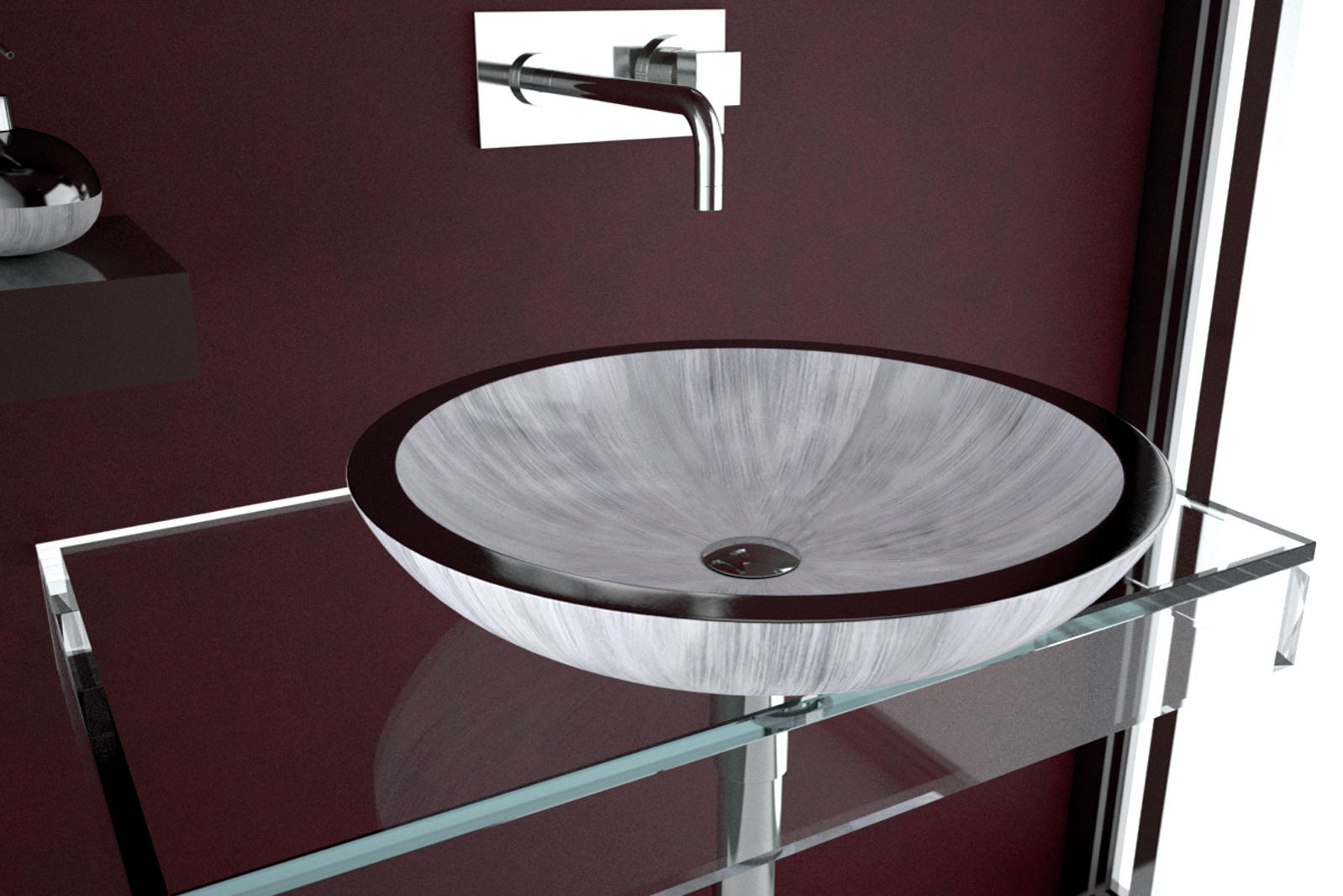 ROUND - Wash basins from Glass Design | Architonic