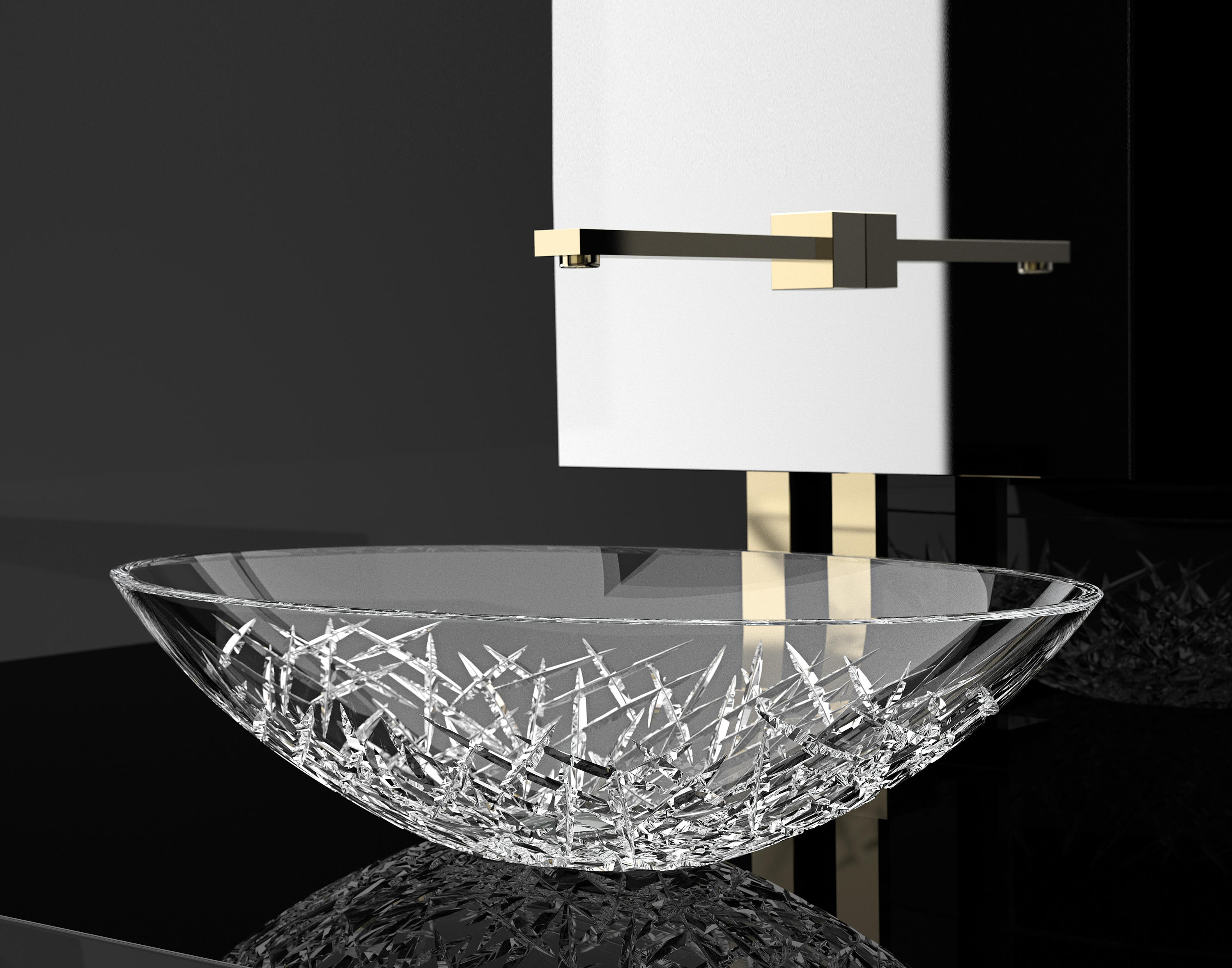 Ice Oval Wash Basins From Glass Design Architonic