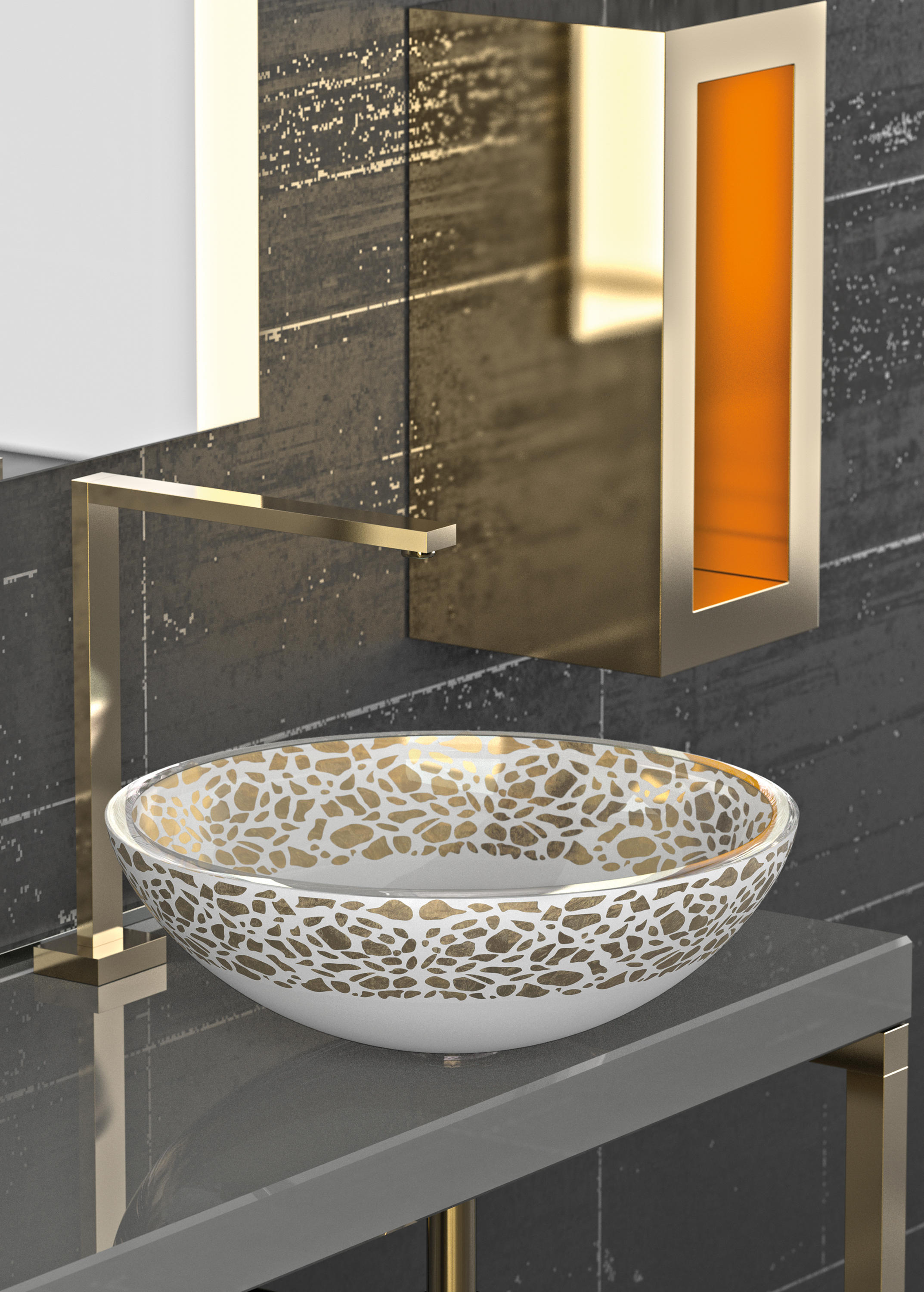 Flare Wash Basins From Glass Design Architonic