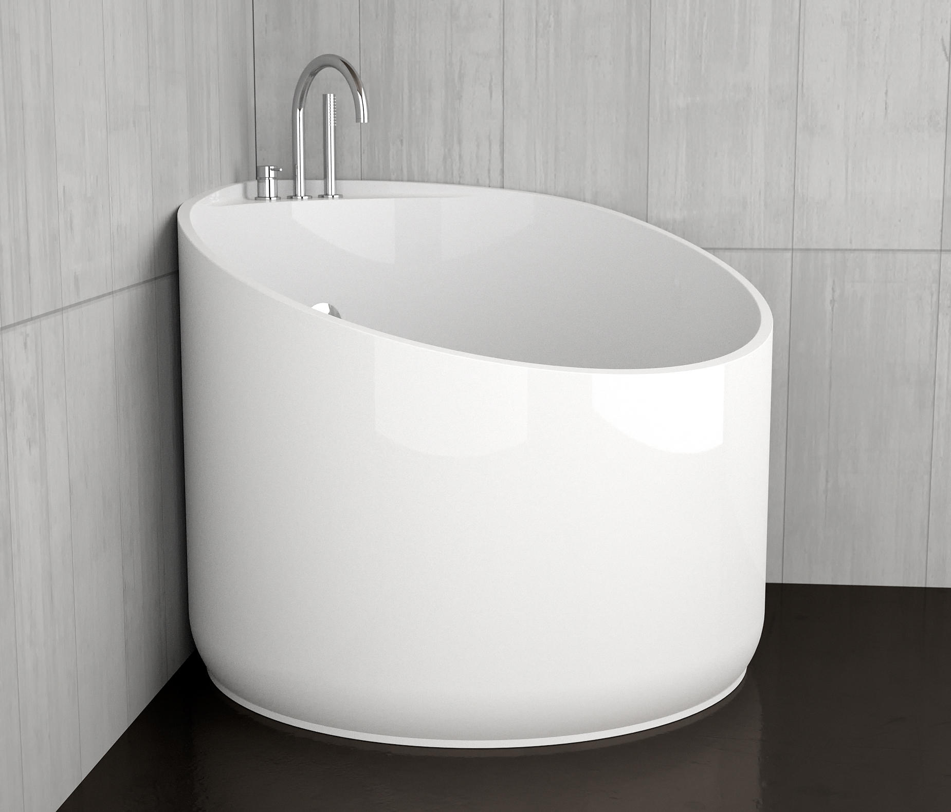 MINI - Free-standing baths from Glass Design | Architonic