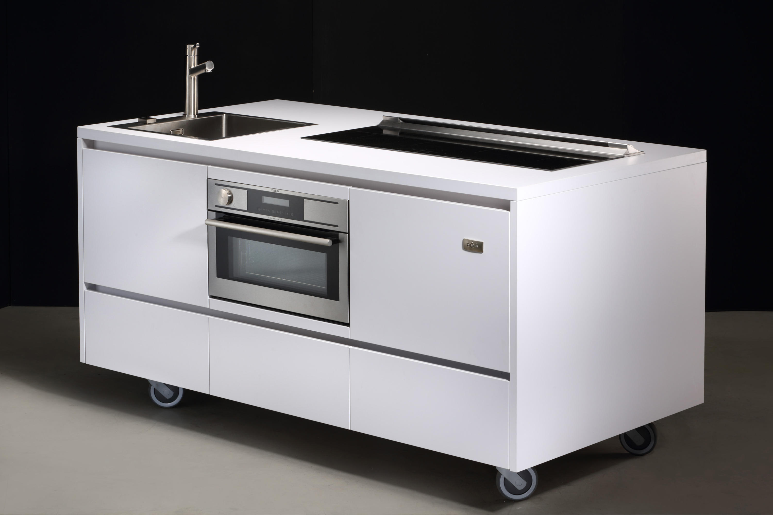 mobile kitchen units - high quality designer mobile kitchen