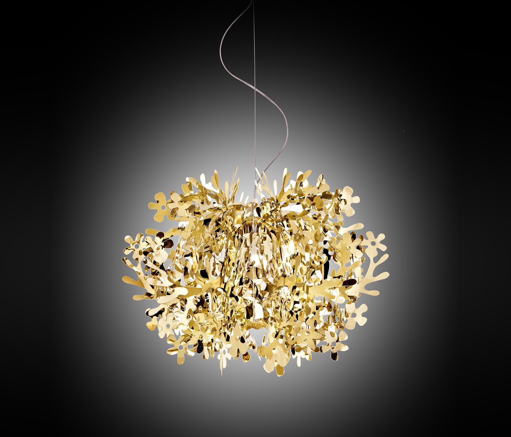 Fiorella Mini Gold Suspension General Lighting From