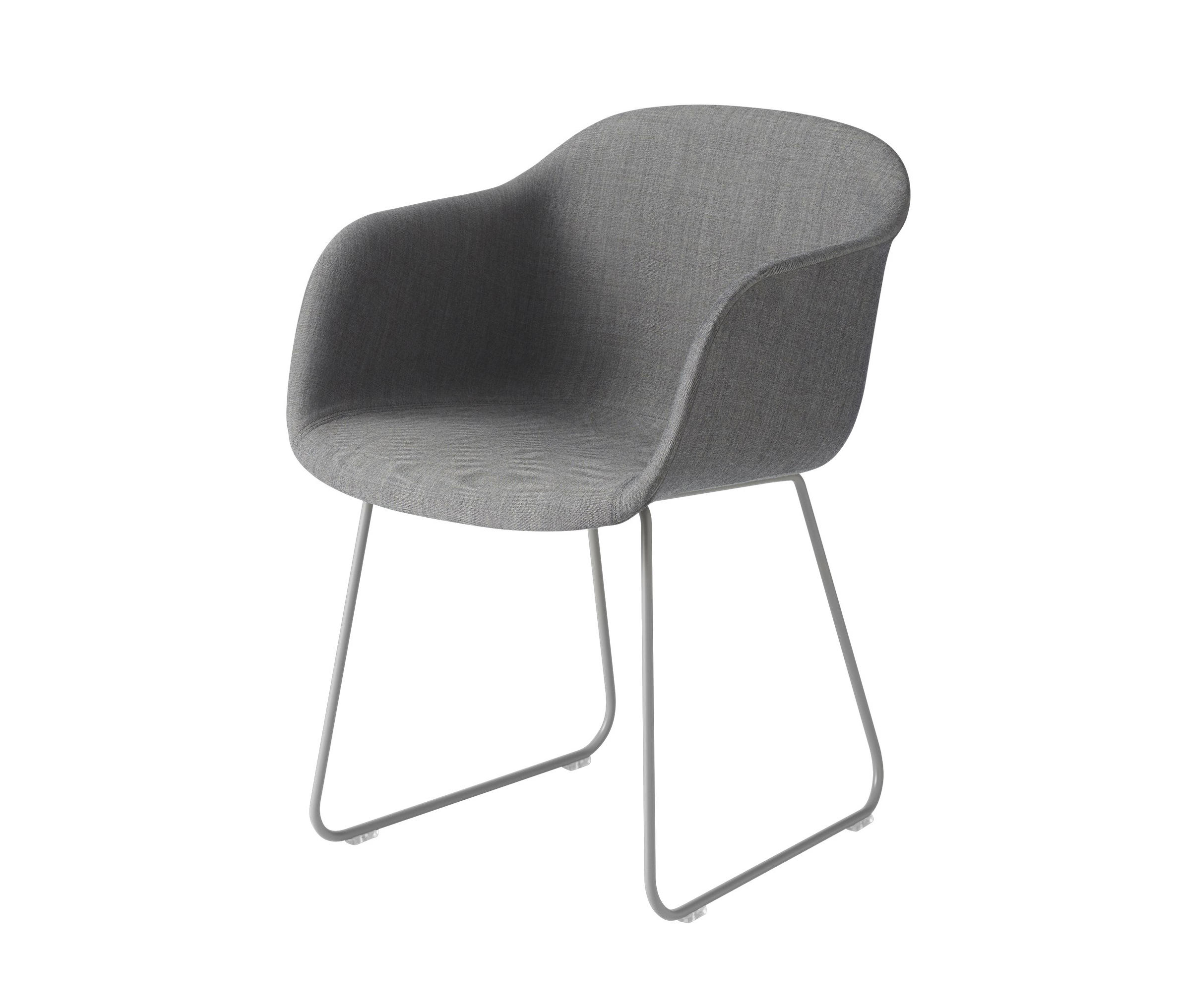Fiber Armchair - Sled Base By Muuto - Visitors Chairs