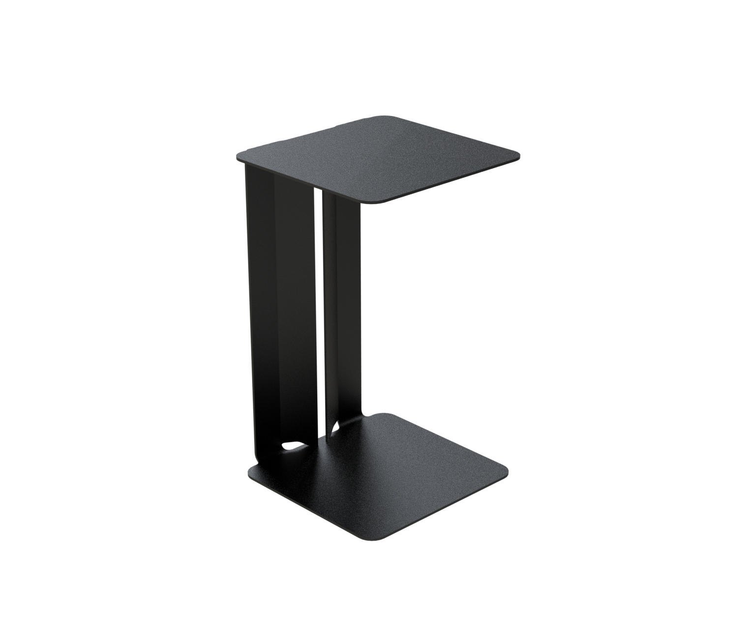 Leste bout de canap tables d 39 appoint de mati re grise for Table d appoint pour canape