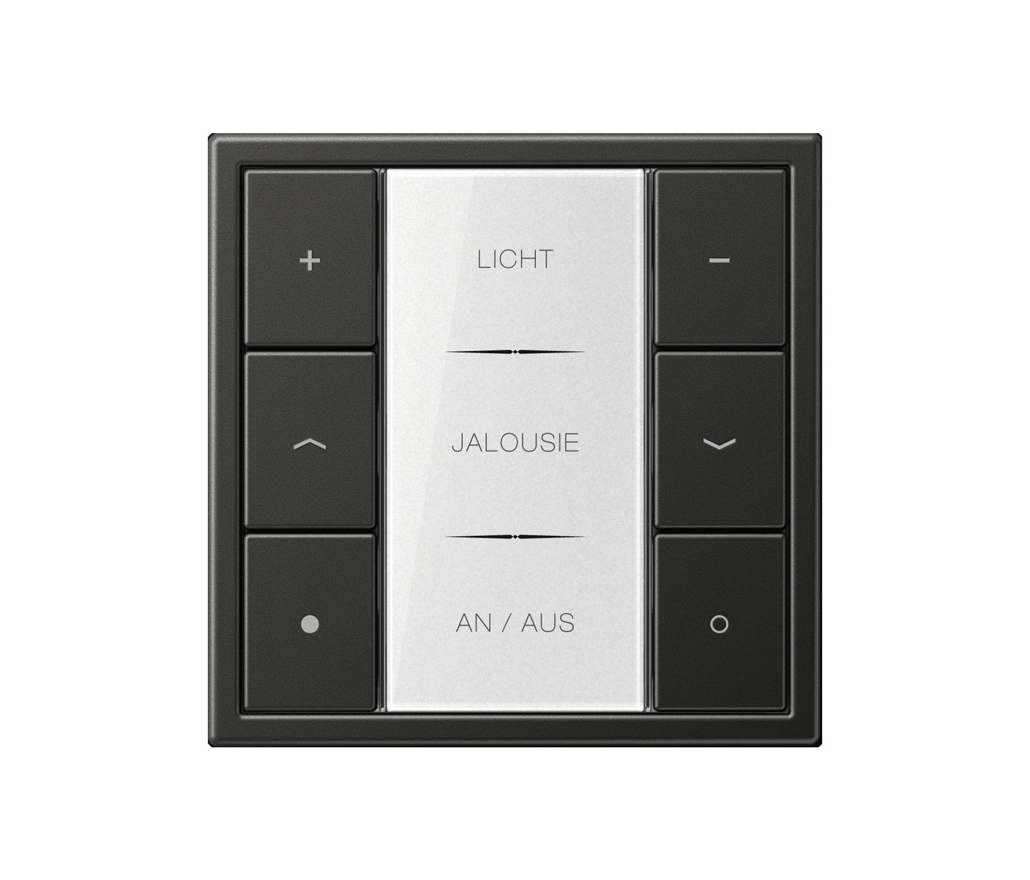 knx tastsensoren f 50 ls 990 knx systeme von jung architonic. Black Bedroom Furniture Sets. Home Design Ideas