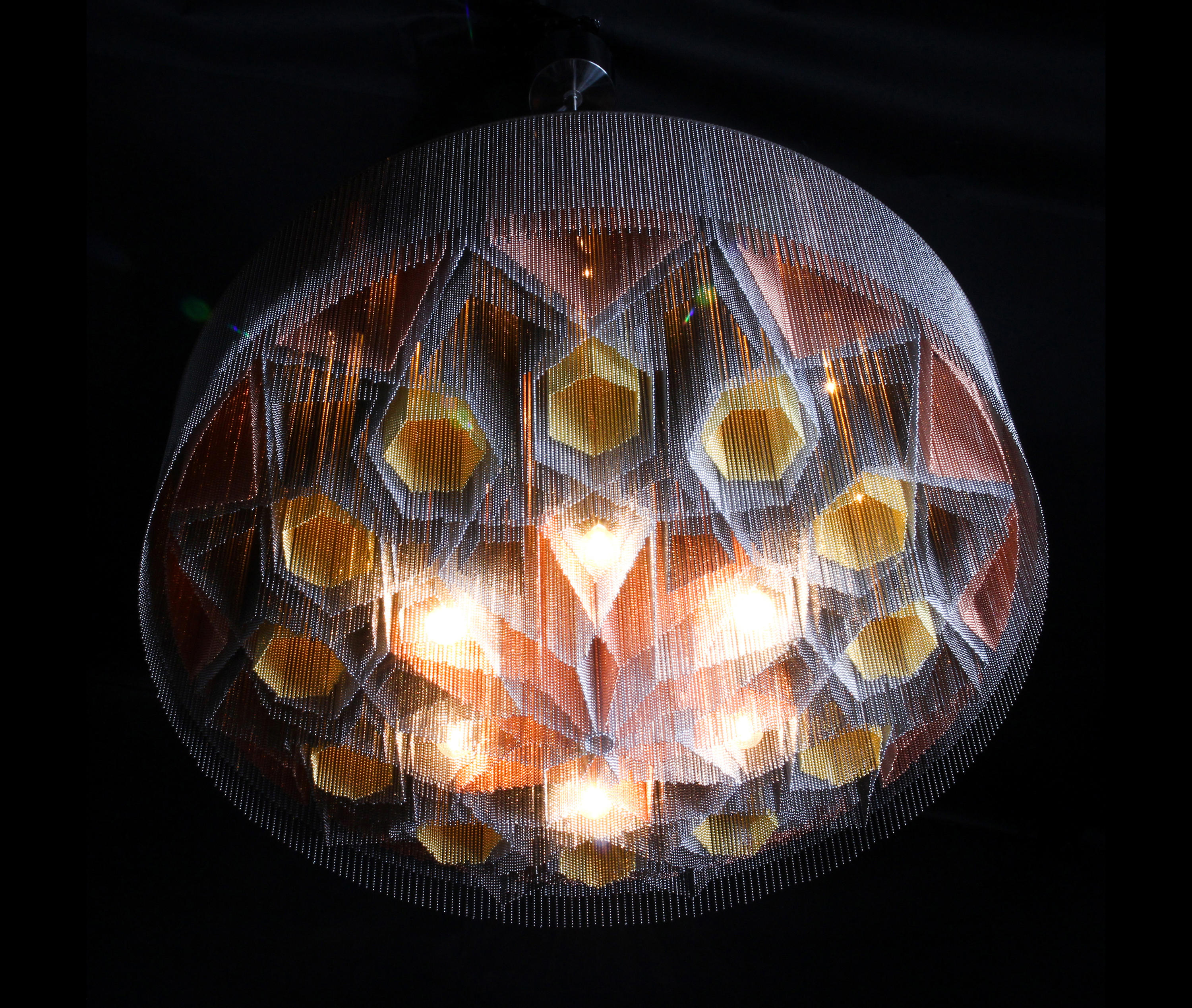 Mandala No 2 1000 Suspended Suspended Lights From