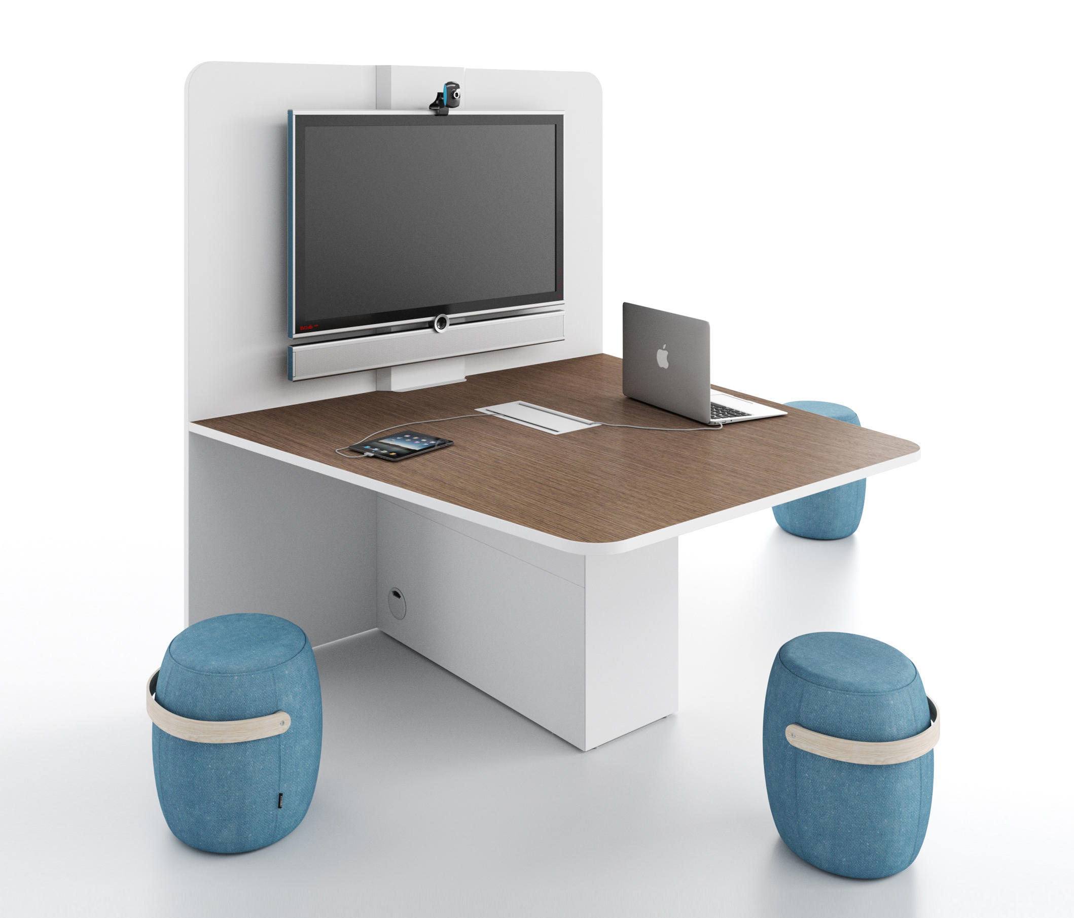 DVEMEDIA Contract Tables From DVO Architonic - Multimedia conference table