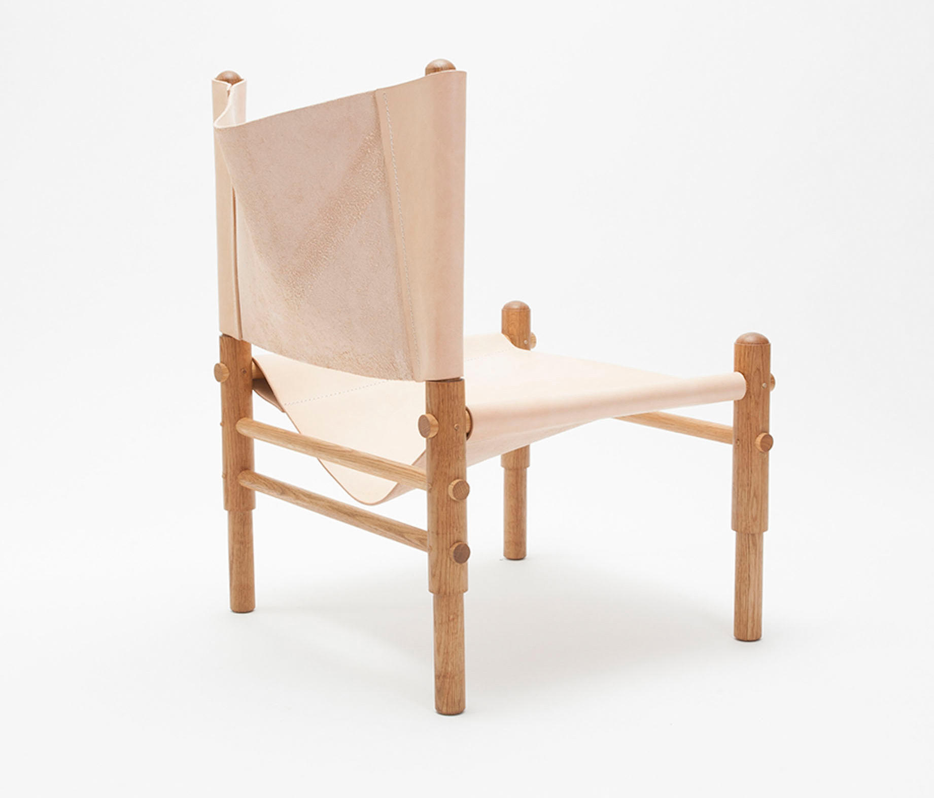 SLING CHAIR OAK Lounge chairs from Workstead