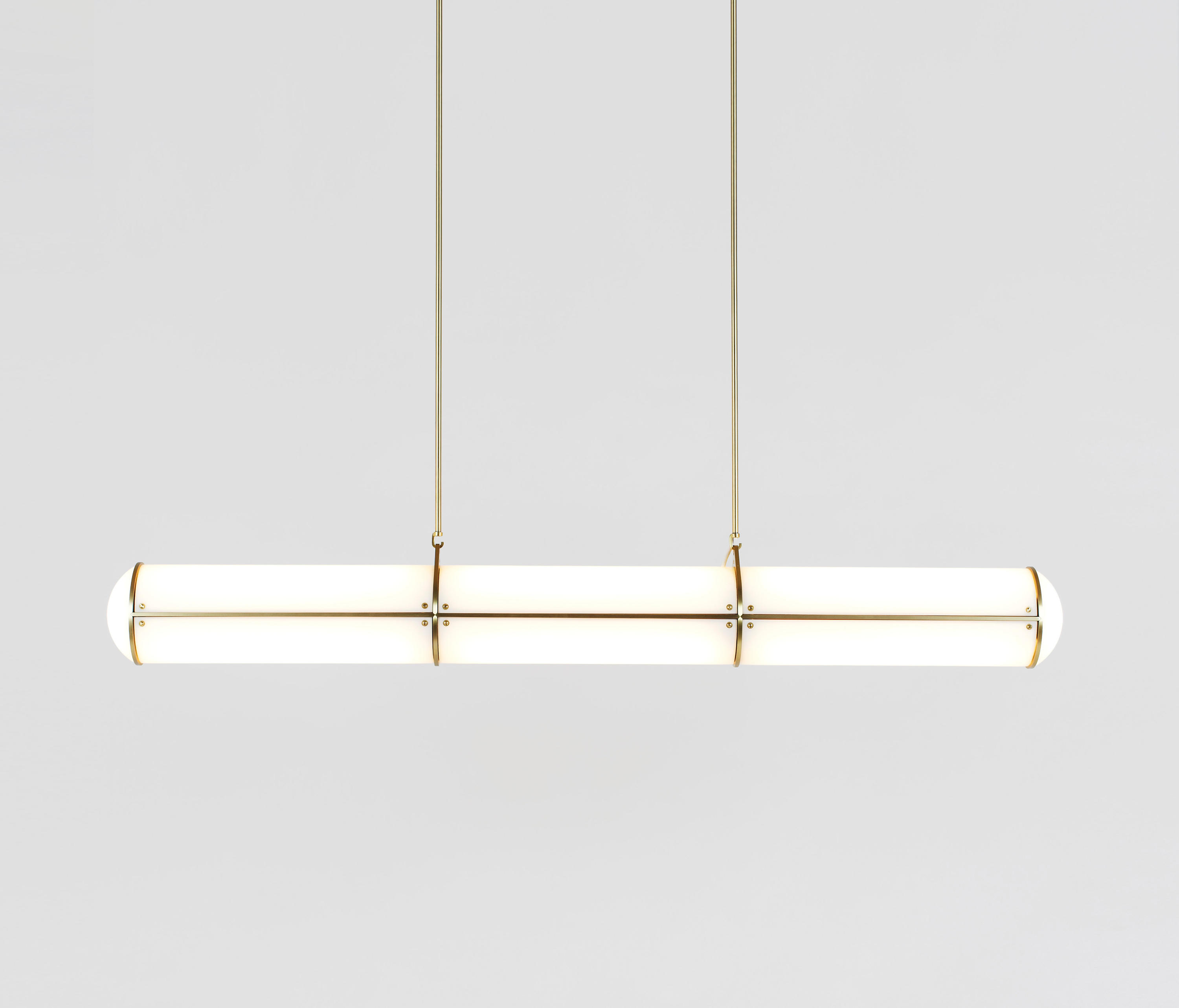 ENDLESS STRAIGHT 3 UNITS BRASS General lighting from Roll Hill