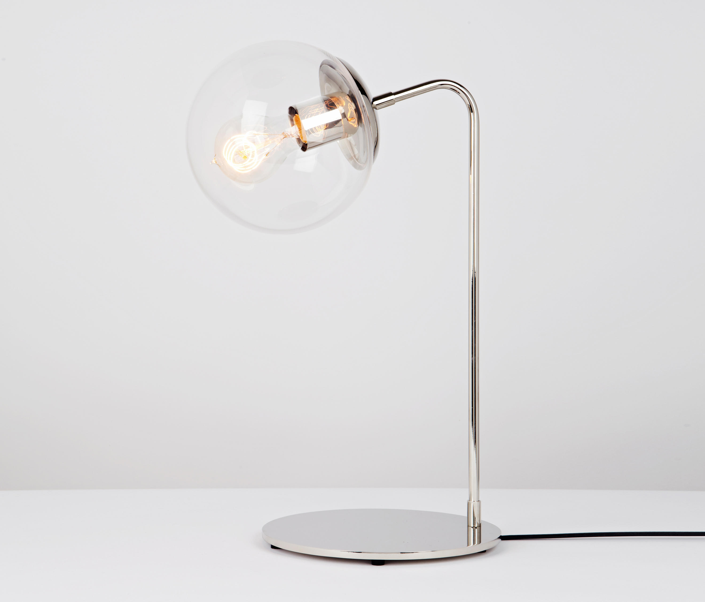 Modo desk lamp nickel clear table lights from roll hill architonic modo desk lamp nickel clear by roll hill table lights aloadofball Choice Image