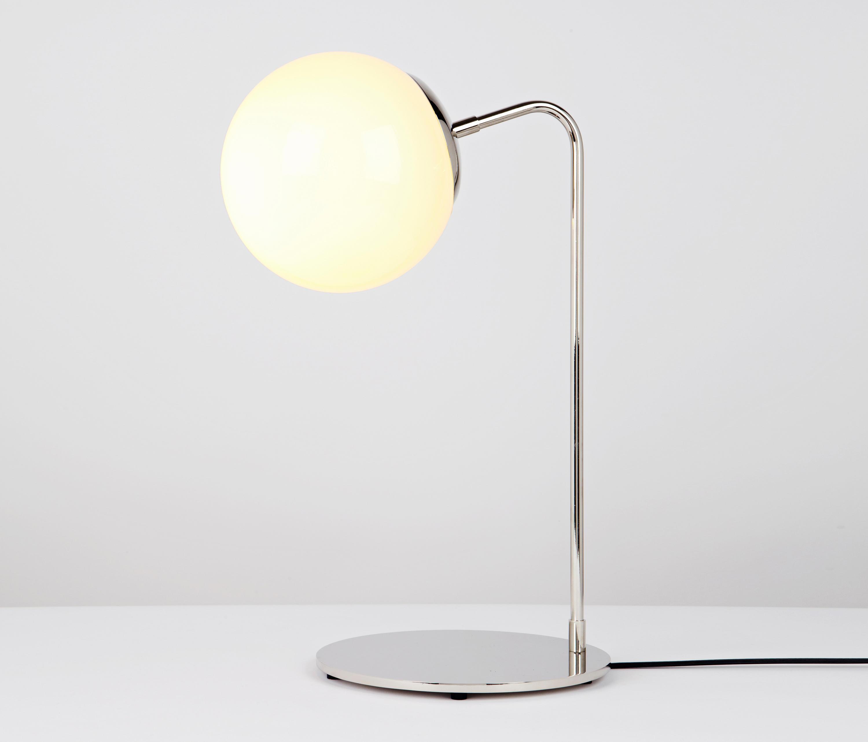 Modo desk lamp nickel cream l mparas de sobremesa de for Modo 10 catalogo