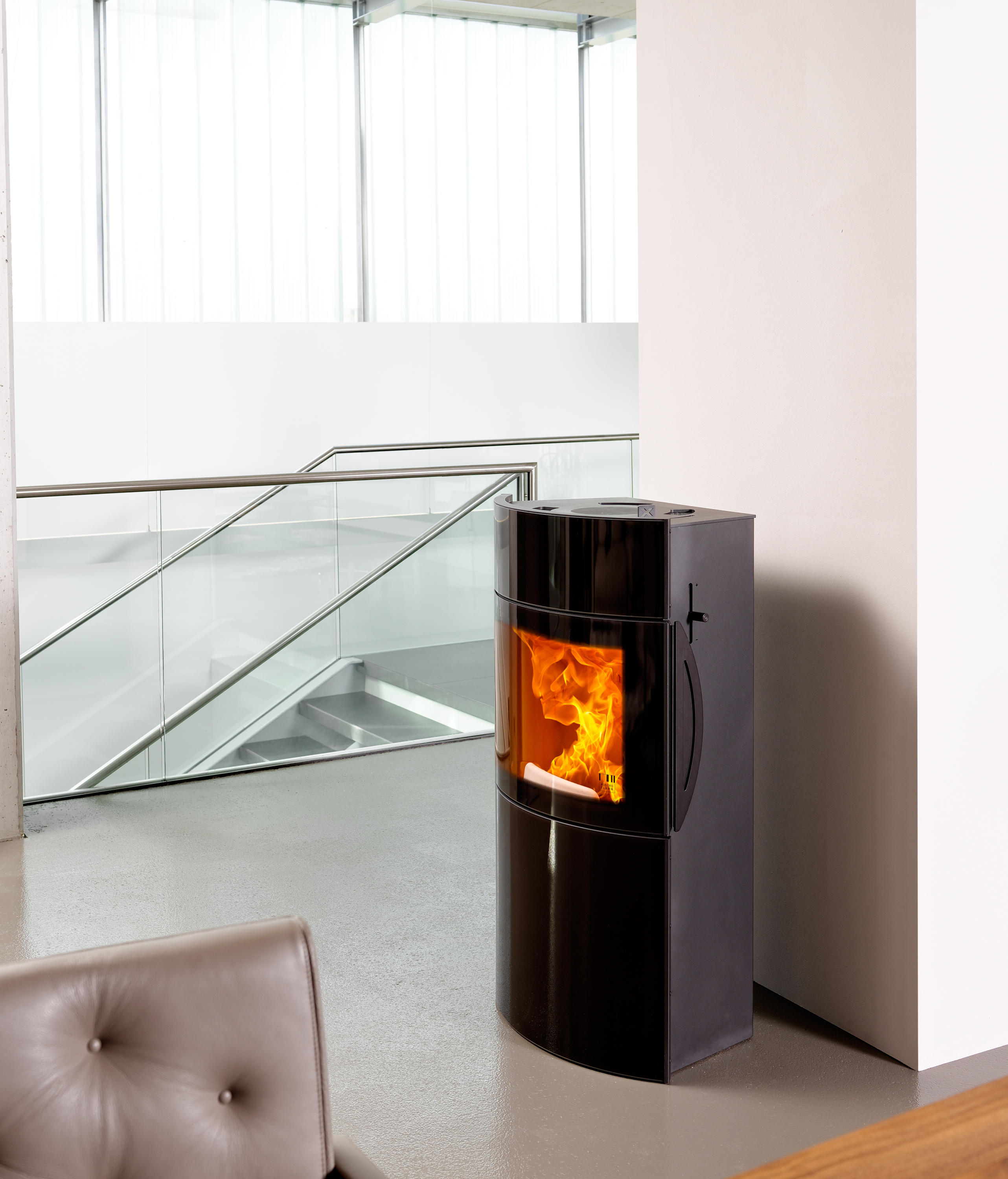 Poele A Pellet Rika Filo fynn xtra - stoves from austroflamm | architonic
