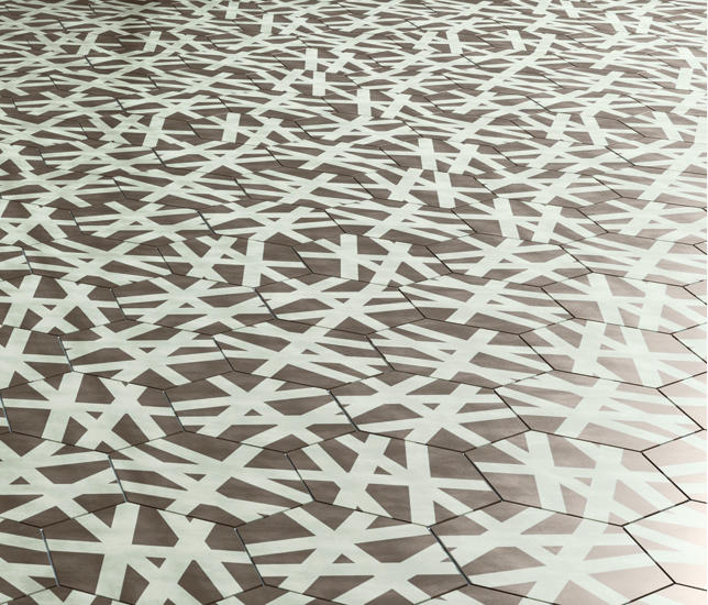 Navone wire shadow floor tiles de bisazza architonic for Bisazza carrelage